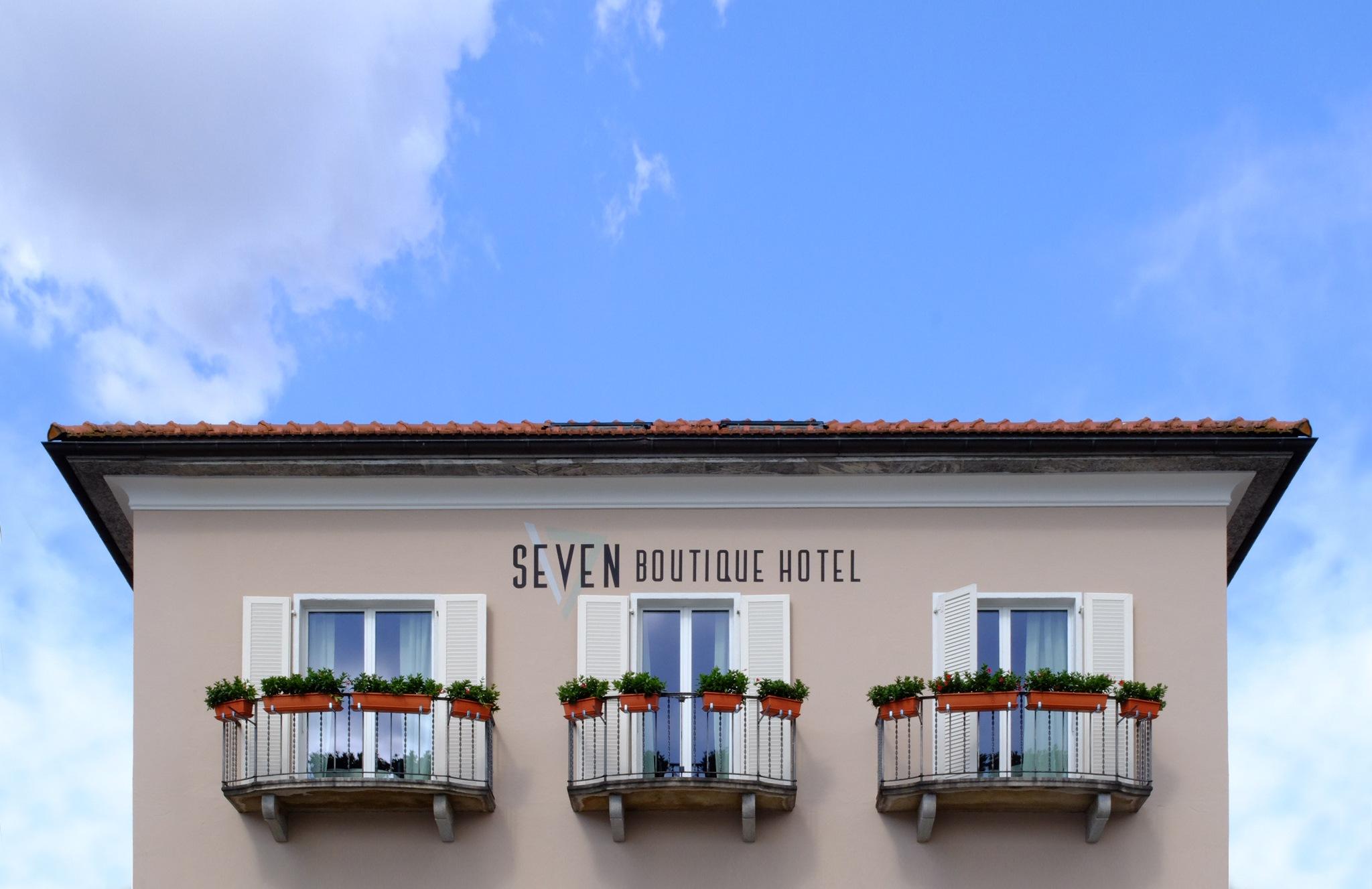Seven Boutique Hotel, Ascona. CH by lokomotivarchs