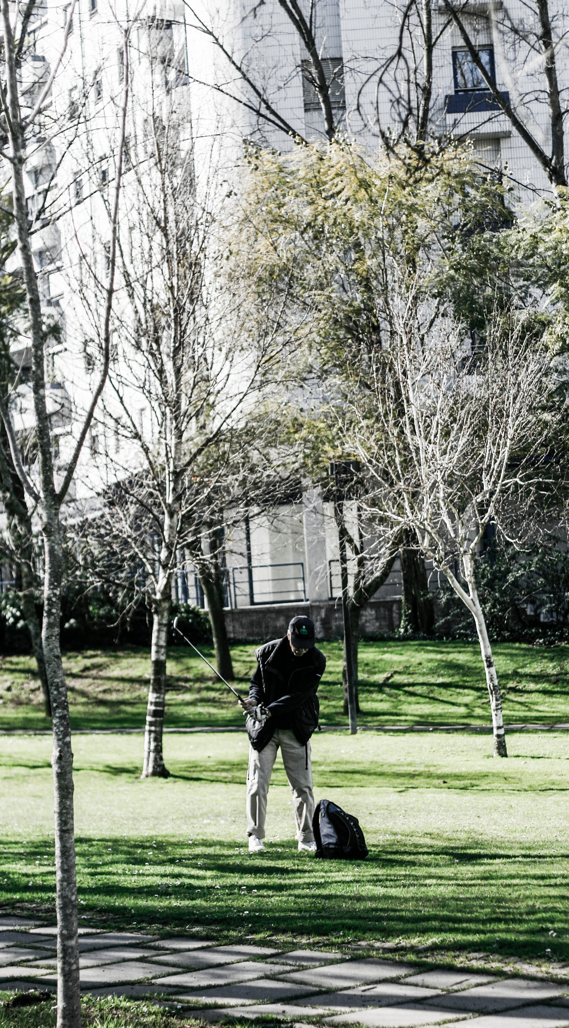 the street golfer by Giorgio_ourmoney