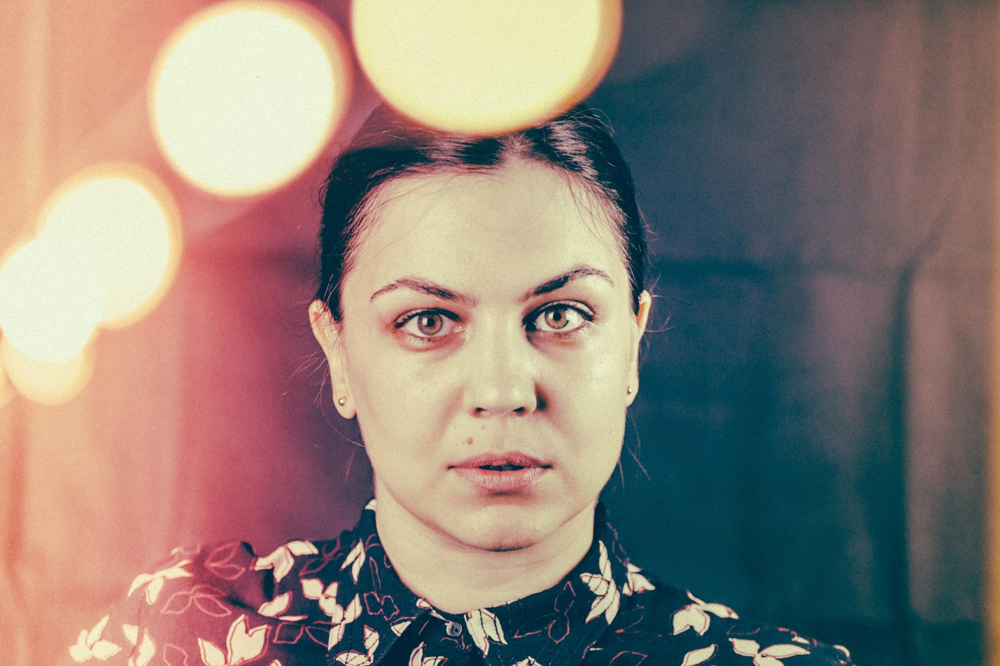 Self Portrait - Rose Period. by Iri Kirova