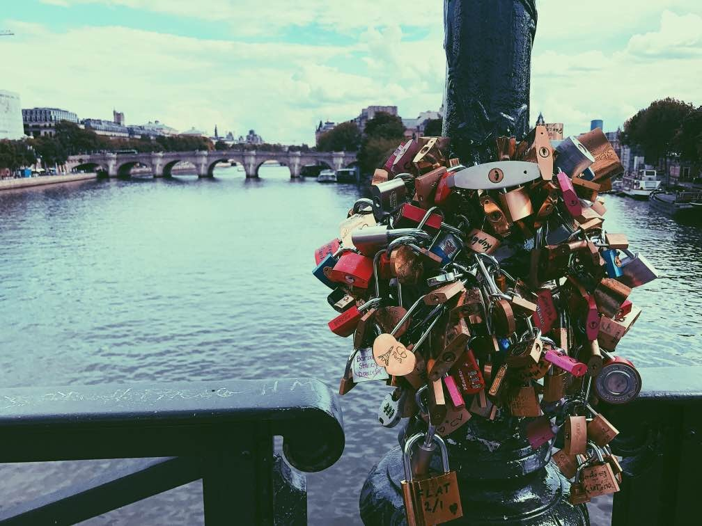 Locked in Paris  by Angela