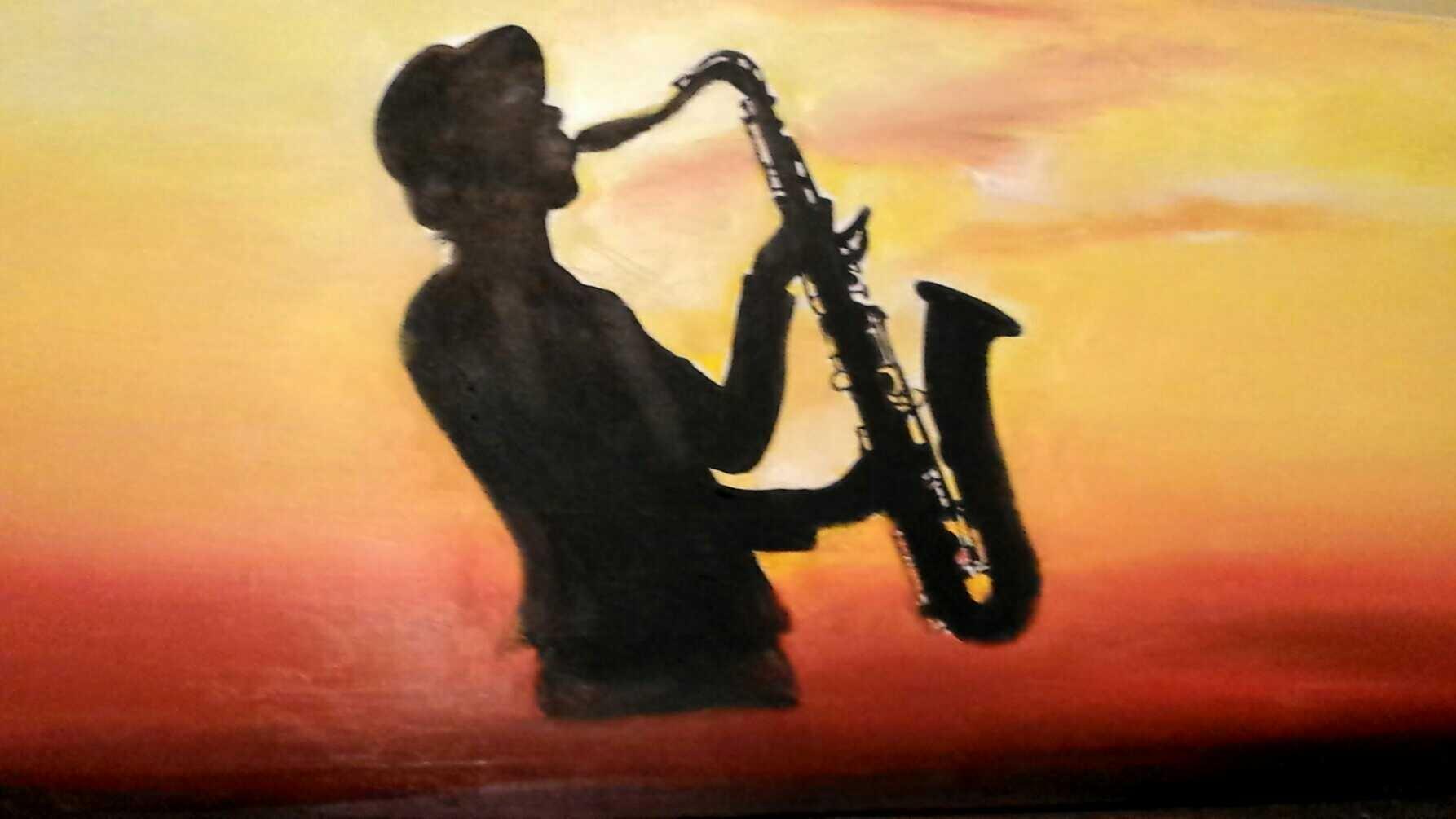 saxophone  by Mehdi Ammani