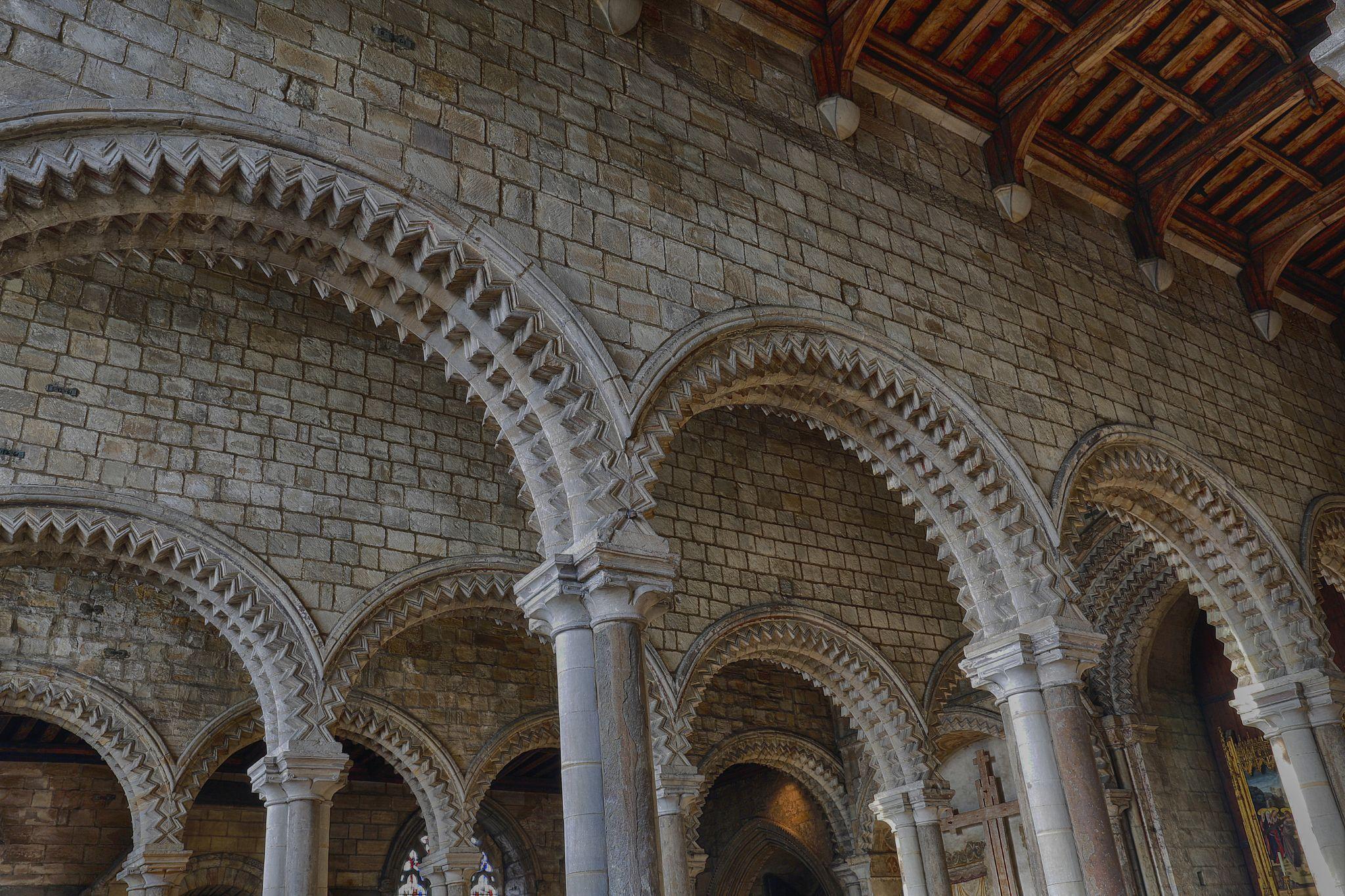 Durham Cathedral Galilee Chapel by Nigel S Jones