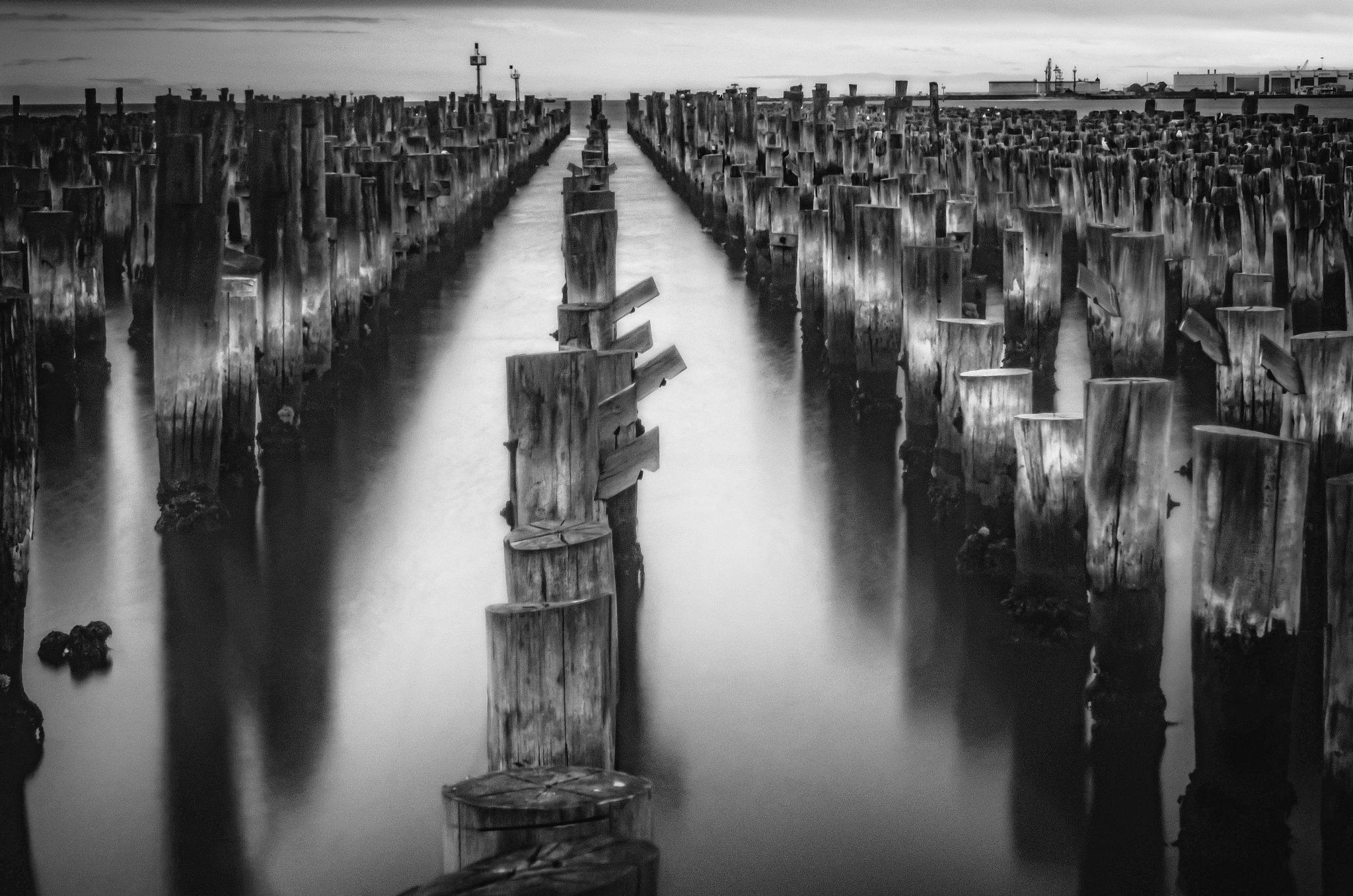 Pillars-Princess Pier by Spiros Miaris