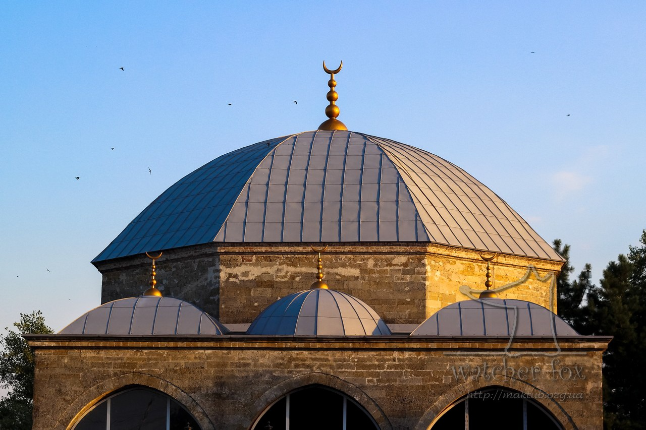 Roof of the old mosque at sunset. Ukraine by watcher fox