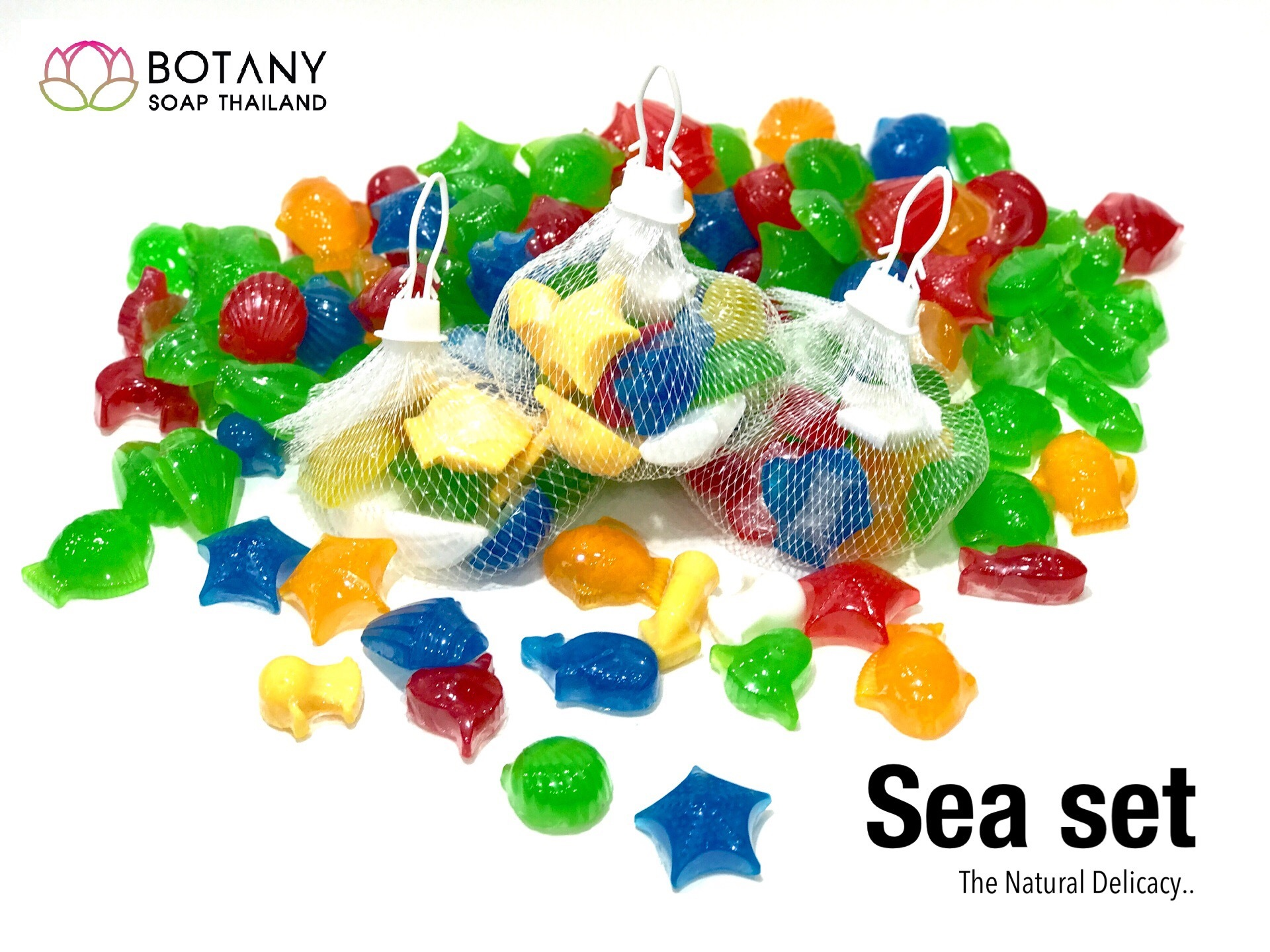 Sea soap set by botanysoapthailand