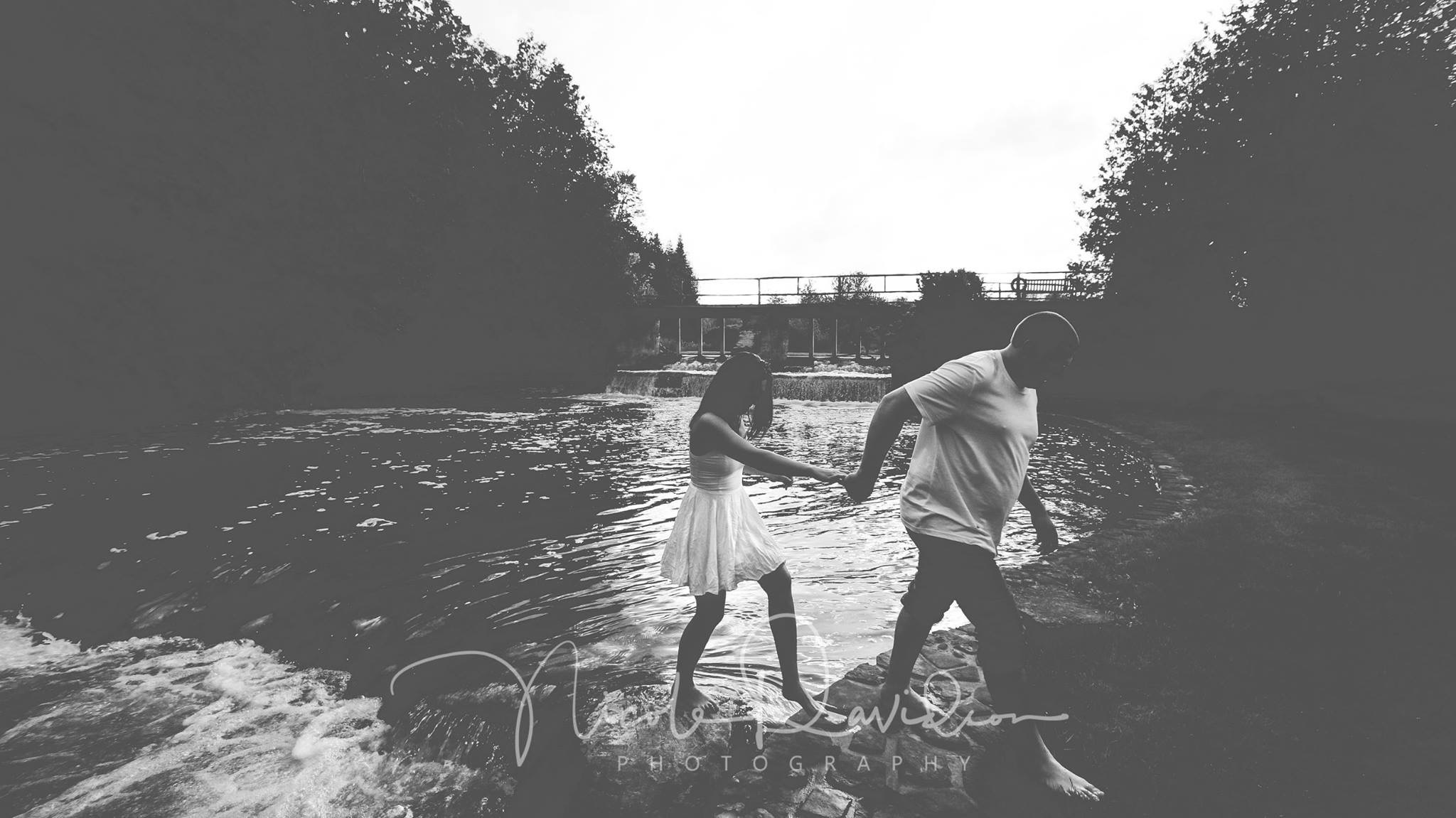 River Embrace by Nicole Davidson