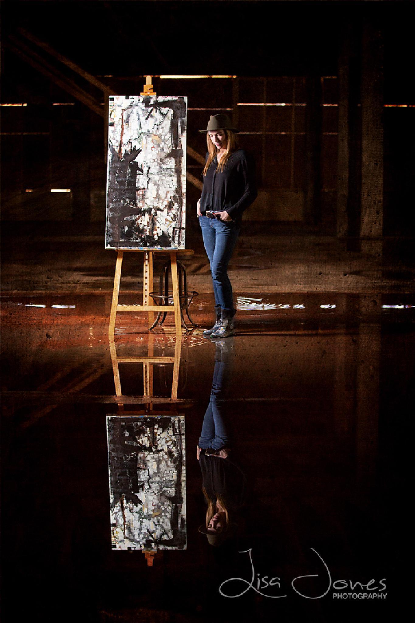 The Artist by Lisa Jones