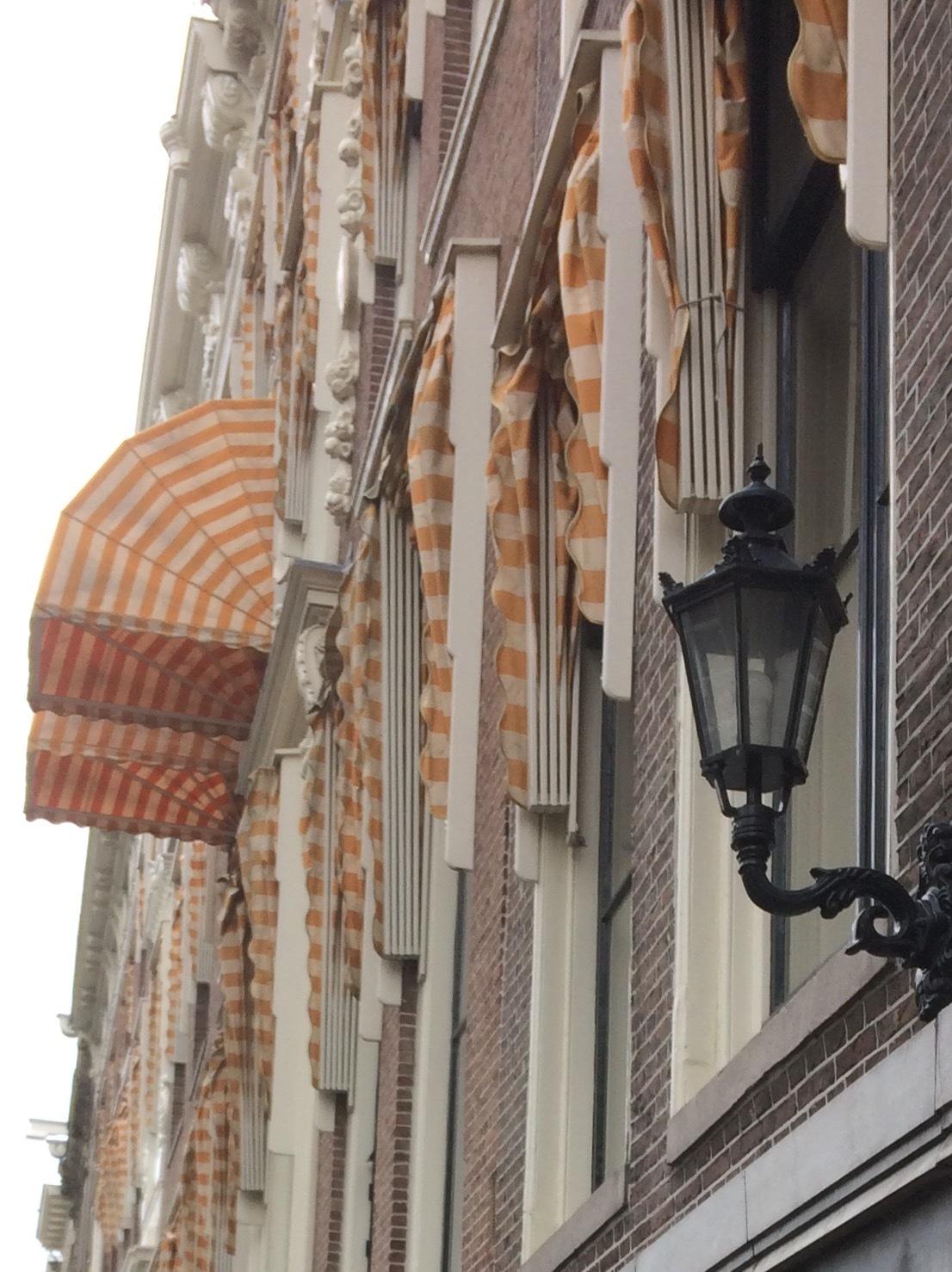 Amsterdam façades by Silvia Mengotti