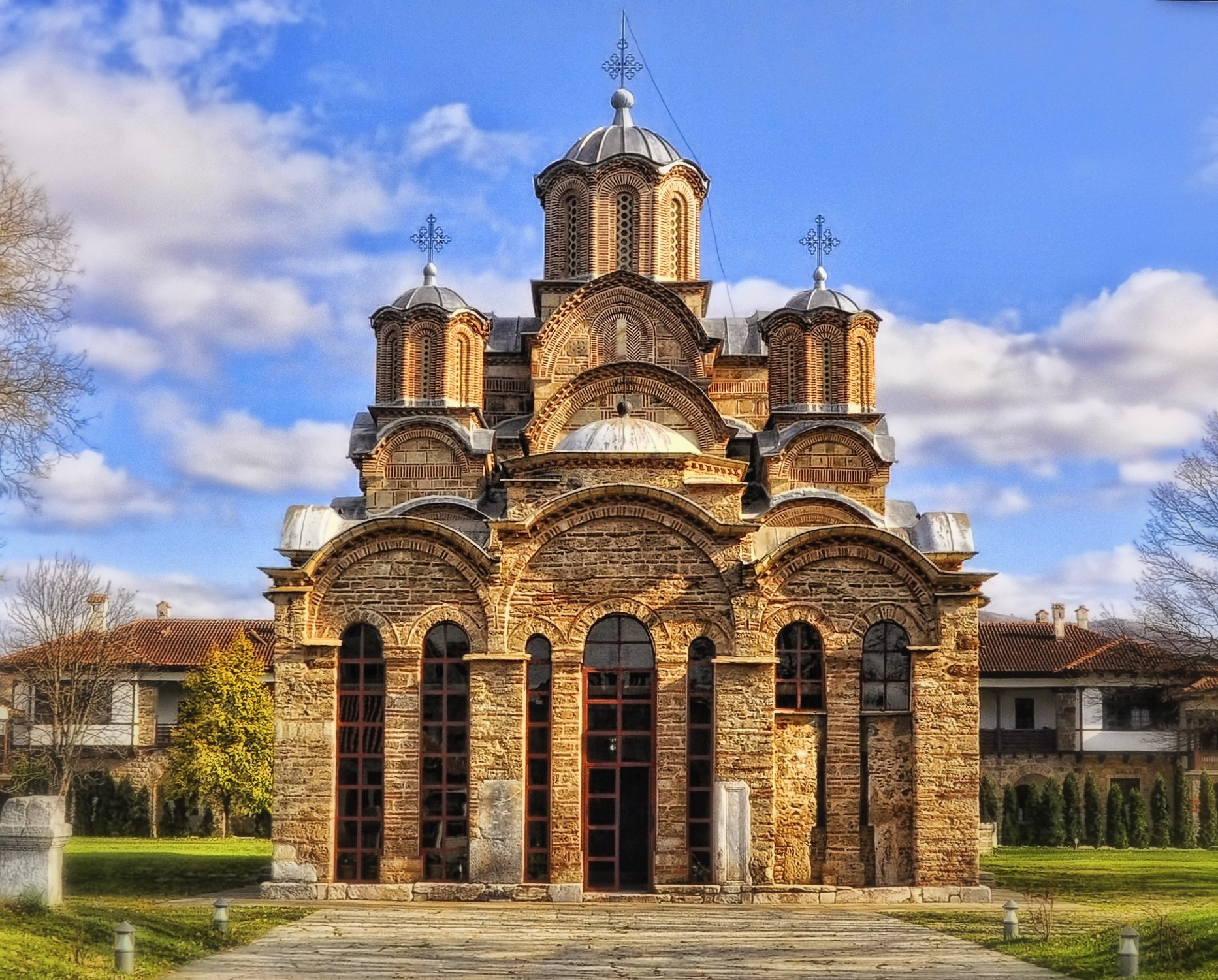 Monastery Gracanica by Takeda Vasiljevic Igor