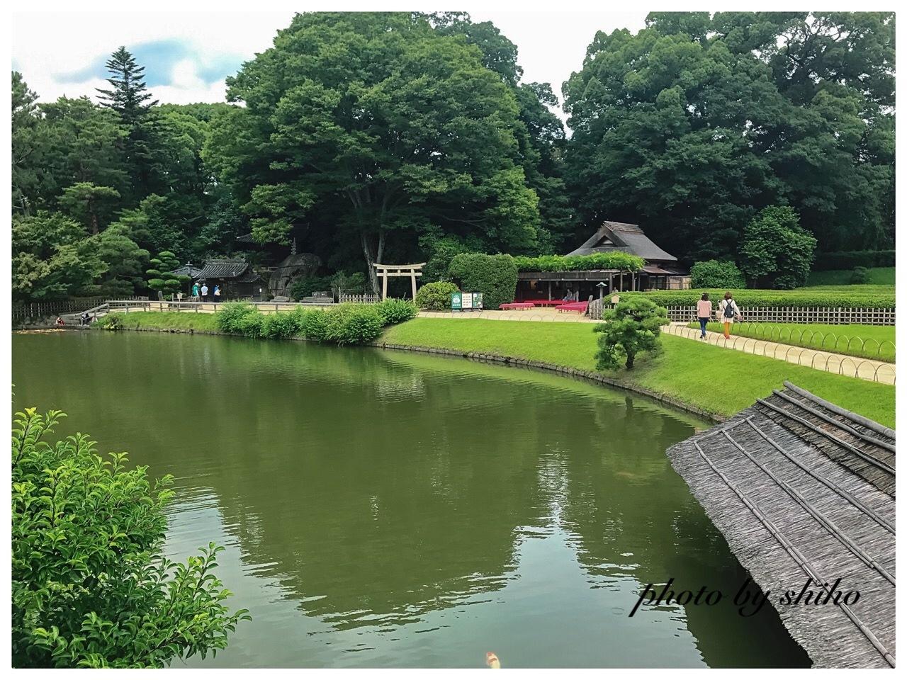 Okayamakōrakuen  Japan Okayama -Prefecture Okayama-city kita-ward korakuen 1-5    岡山後楽園 〒703-8257 岡山 by Shiho