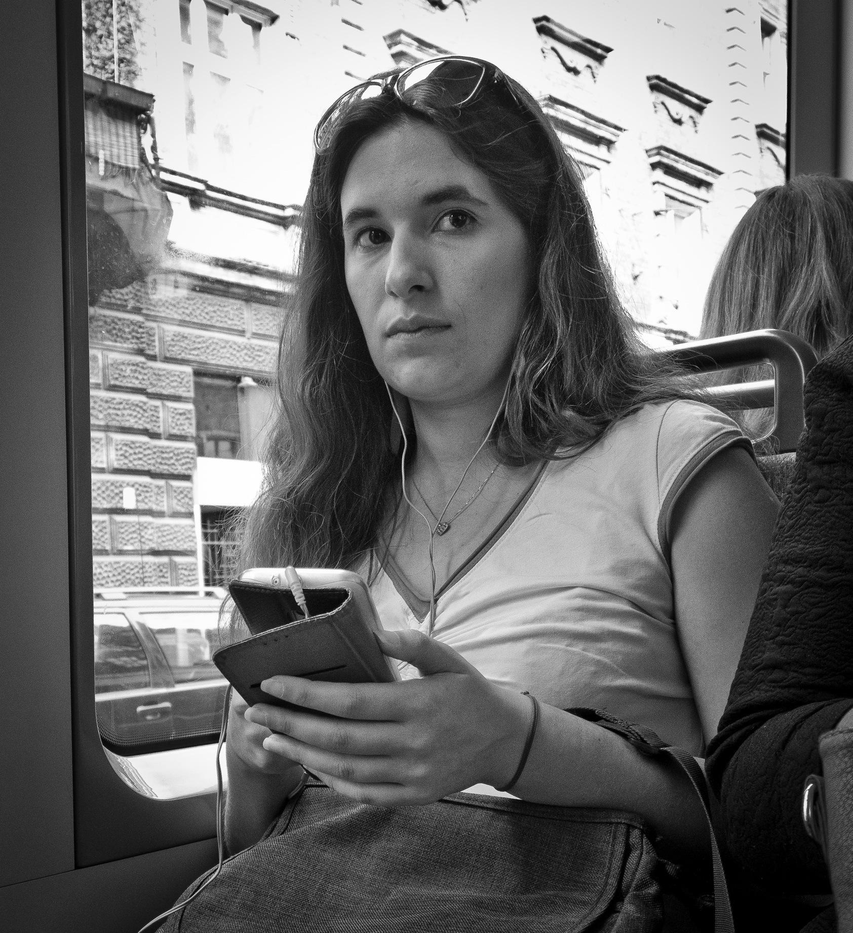 Portrait of a woman by Marcin Nagraba