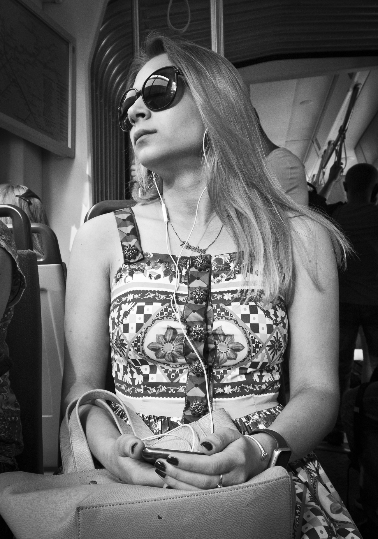 Blonde girl by Marcin Nagraba