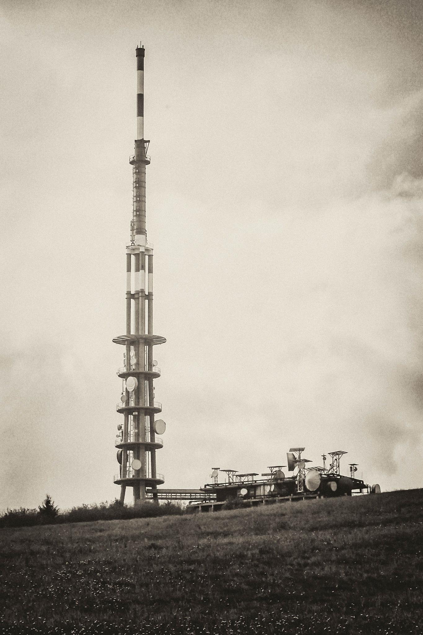 Javorina transmitter by Pavol Vesely