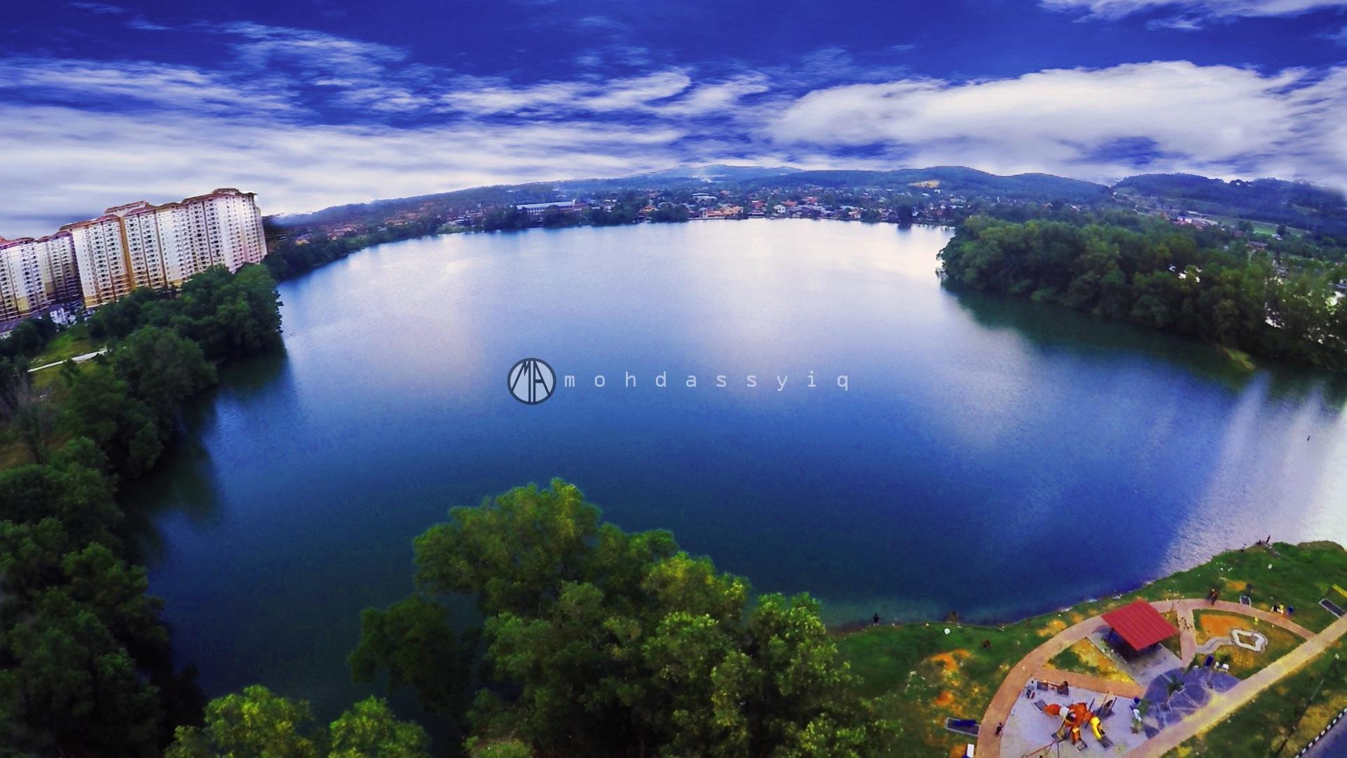 Blue Lake by Mohd Assyiq