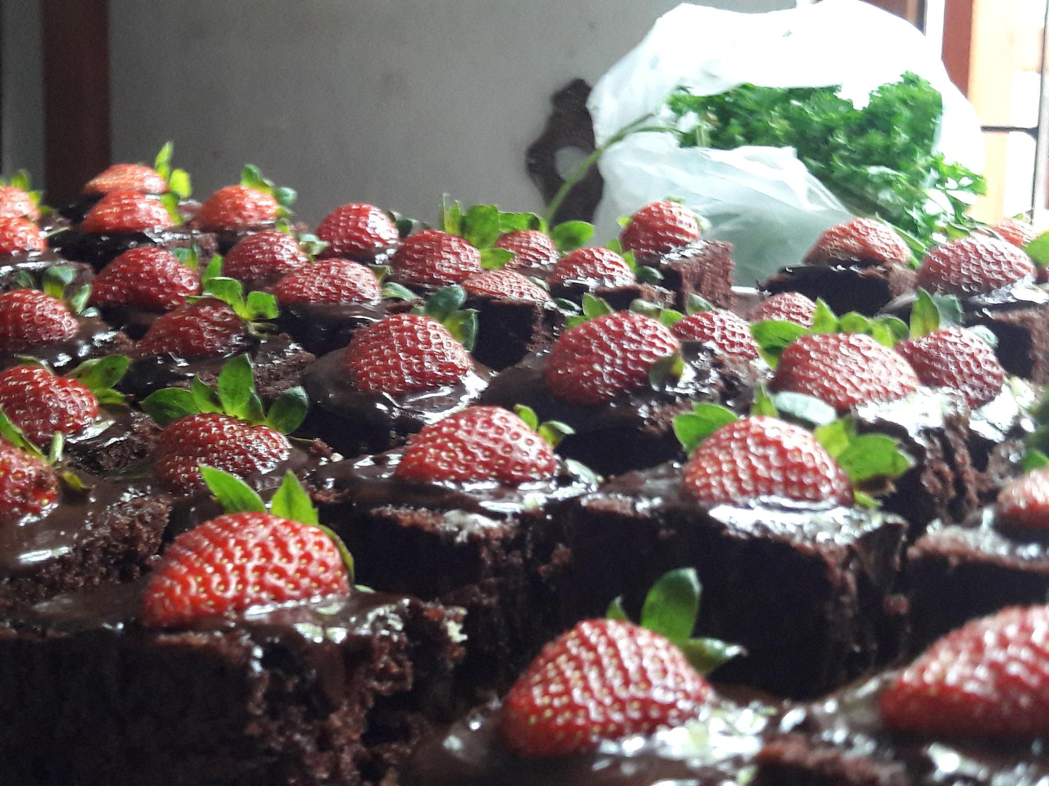 Strawberry Cake by Amaan Azkar