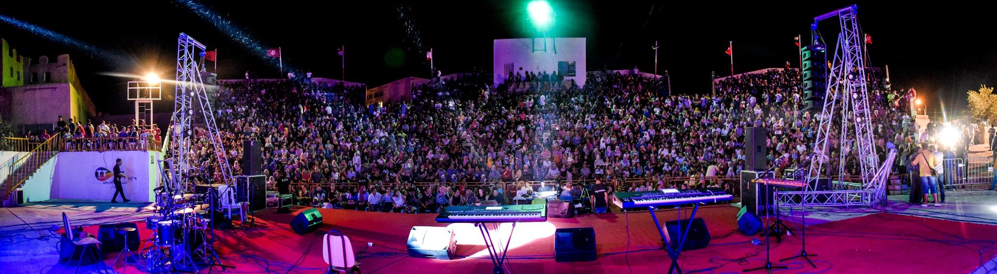 Festival international Gafsa 2017 by Mahdi Chabou