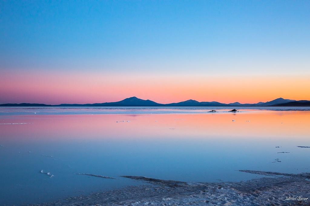 Salar d'Uyuni by Michel Gasser