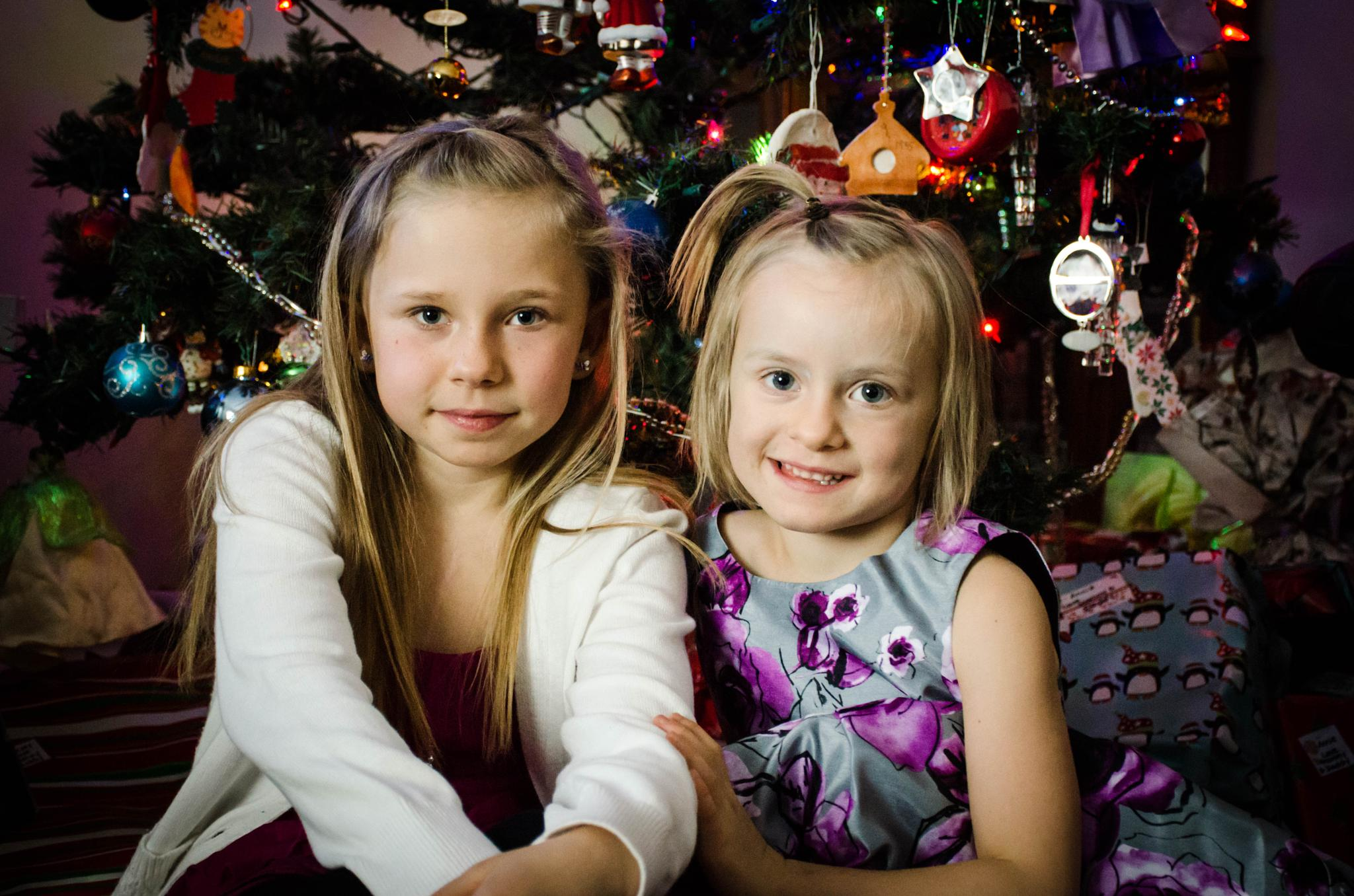 My Beautiful Darlings at Christmas Time by Ang Klassen