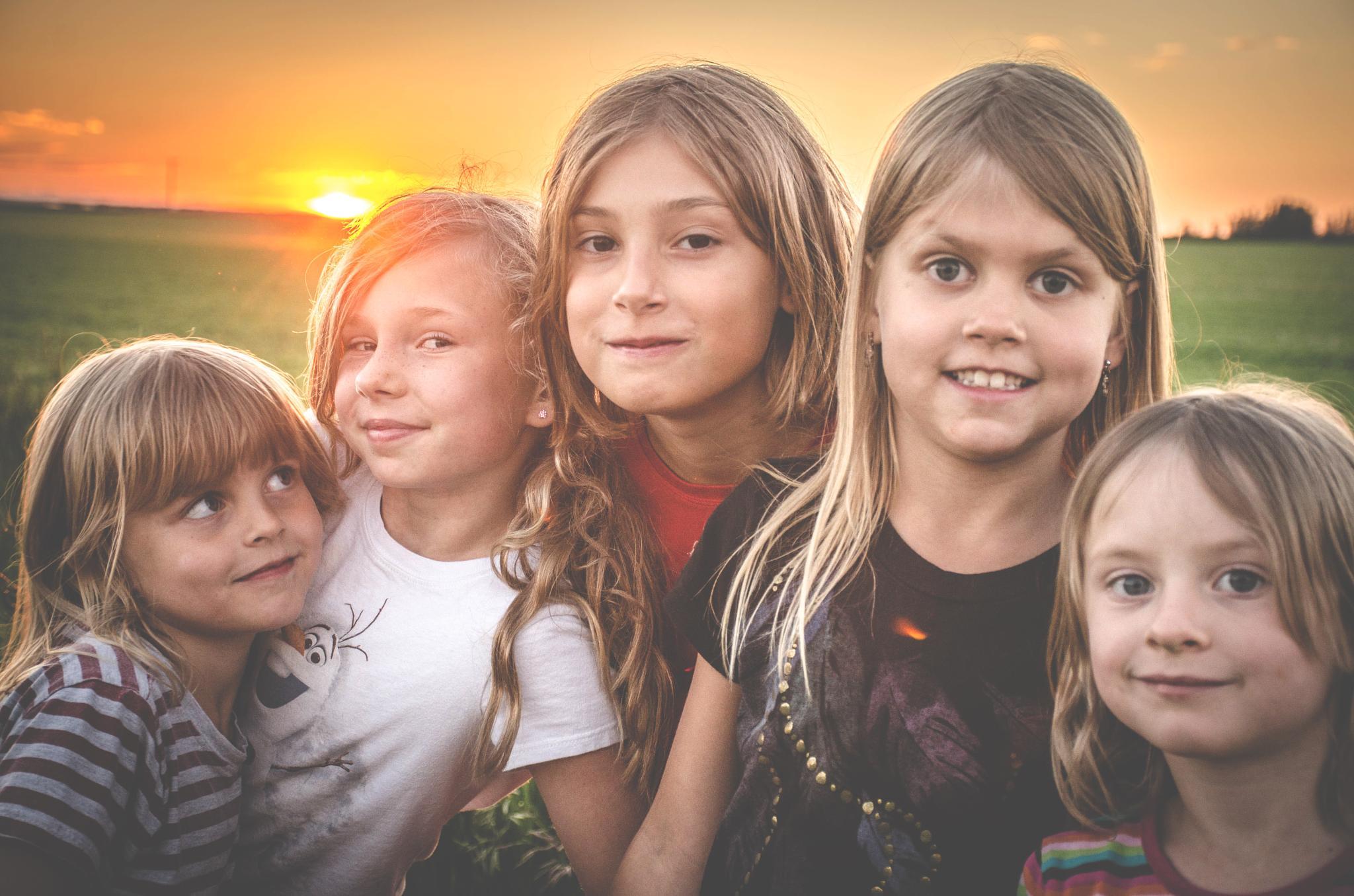 The Cool Kids by Ang Klassen