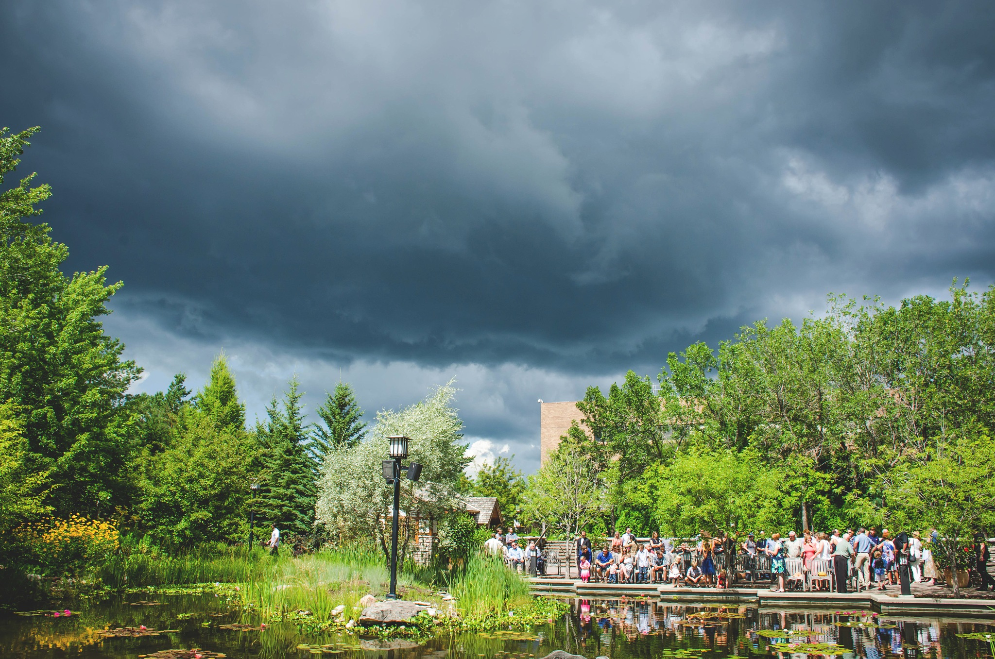 Wedding Weather Delay by Ang Klassen