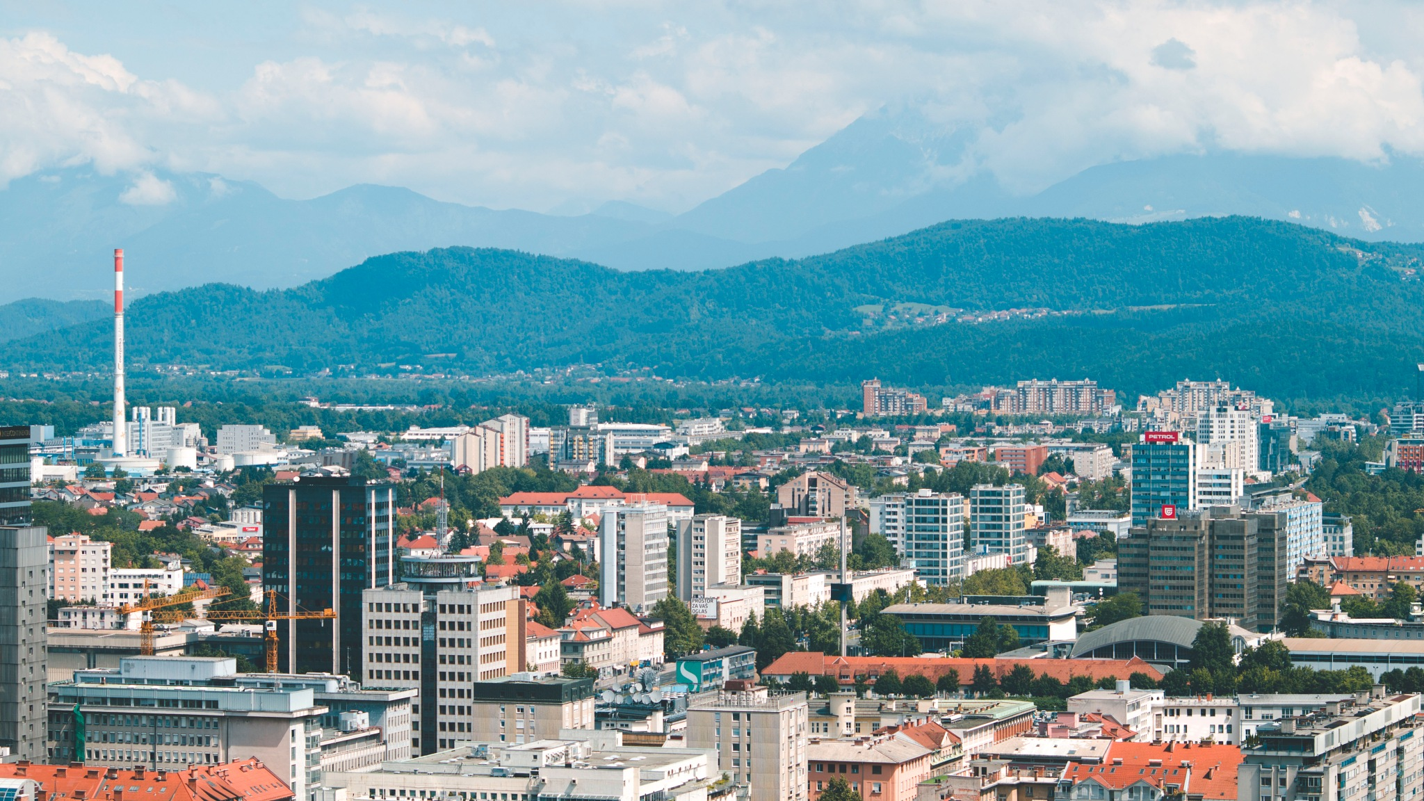Ljubljana on top by Karin Kebe