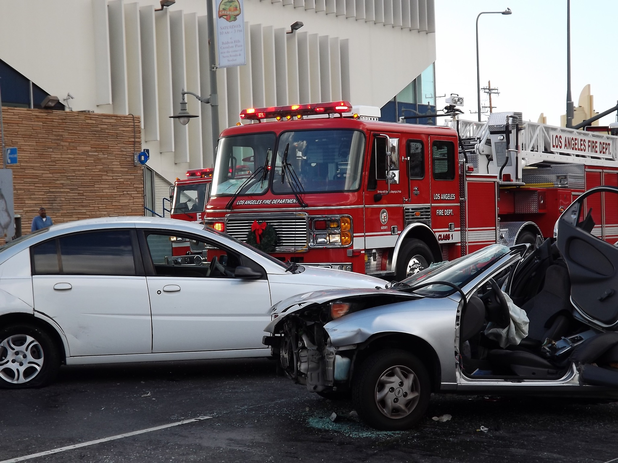 Vehicular Carnage Down on Crenshaw by BC - atomic hot links