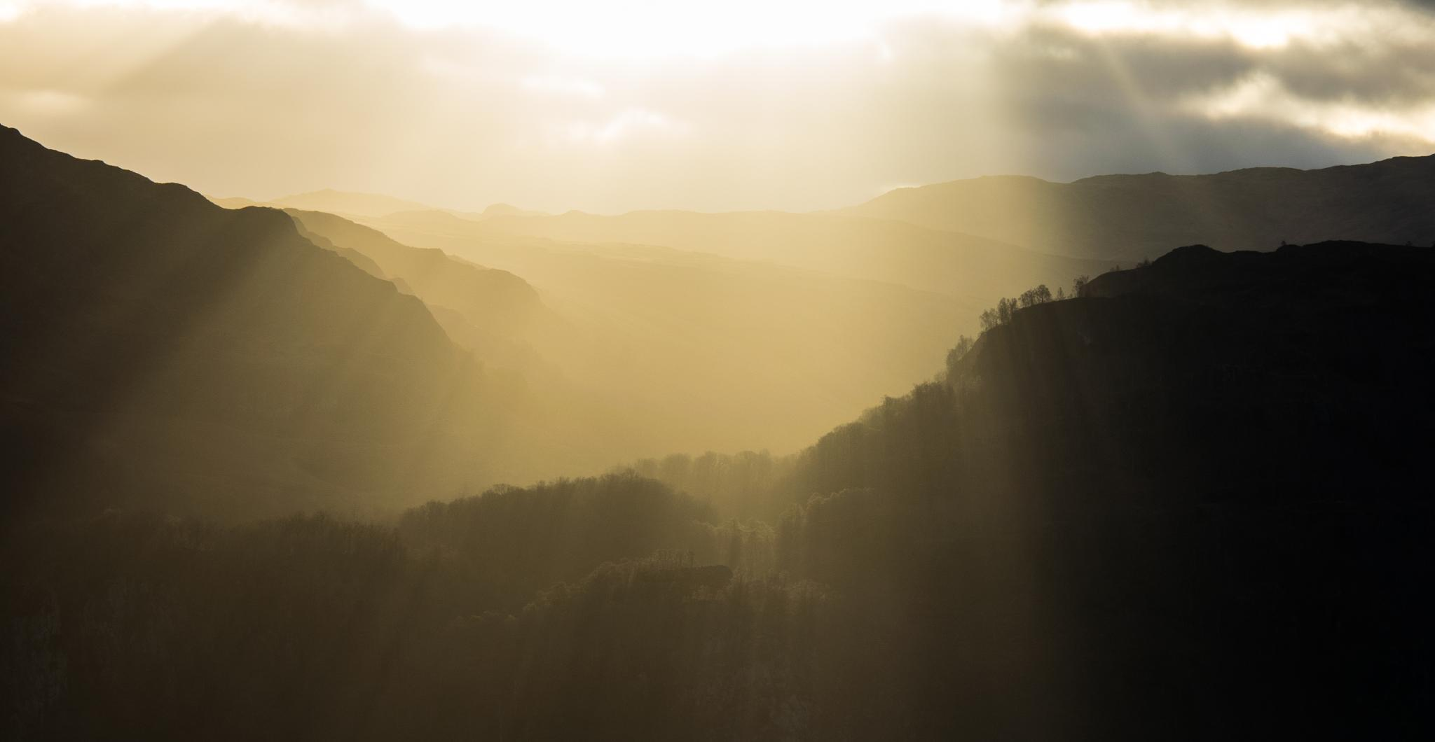 Sunrise from Catbells by JamieMiller