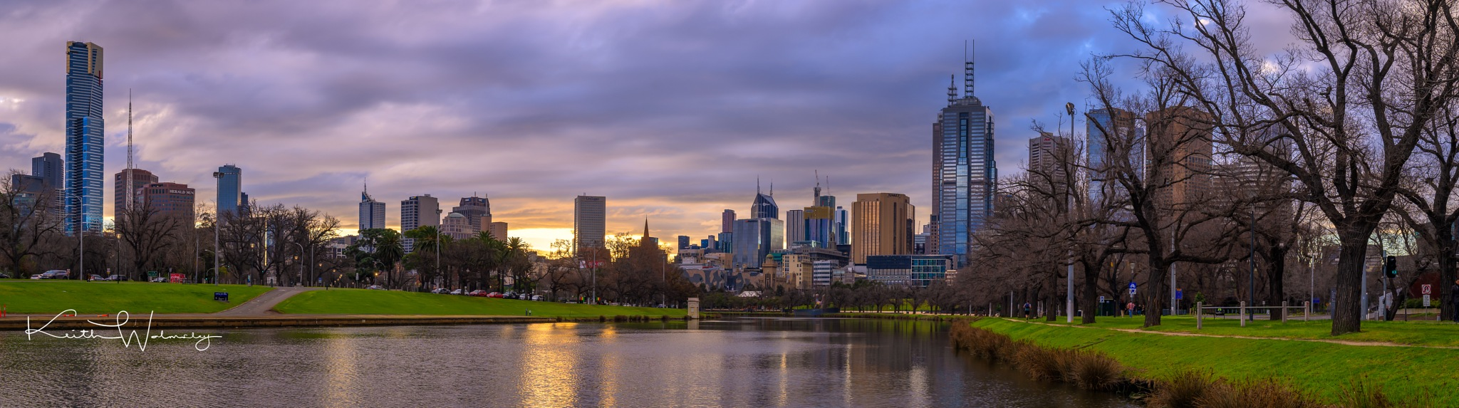 Panoramic Melbourne by keithhmw