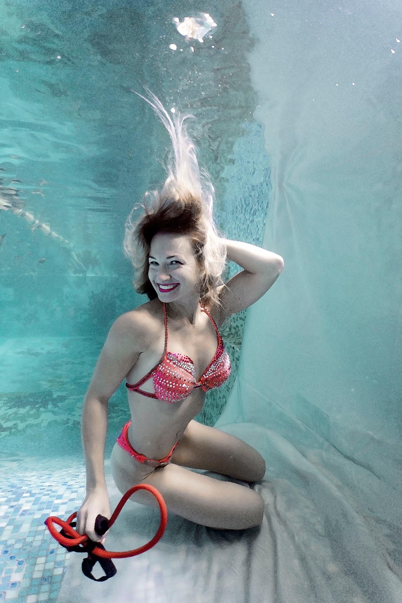 Aqua-fitness by Sergiy Glushchenko