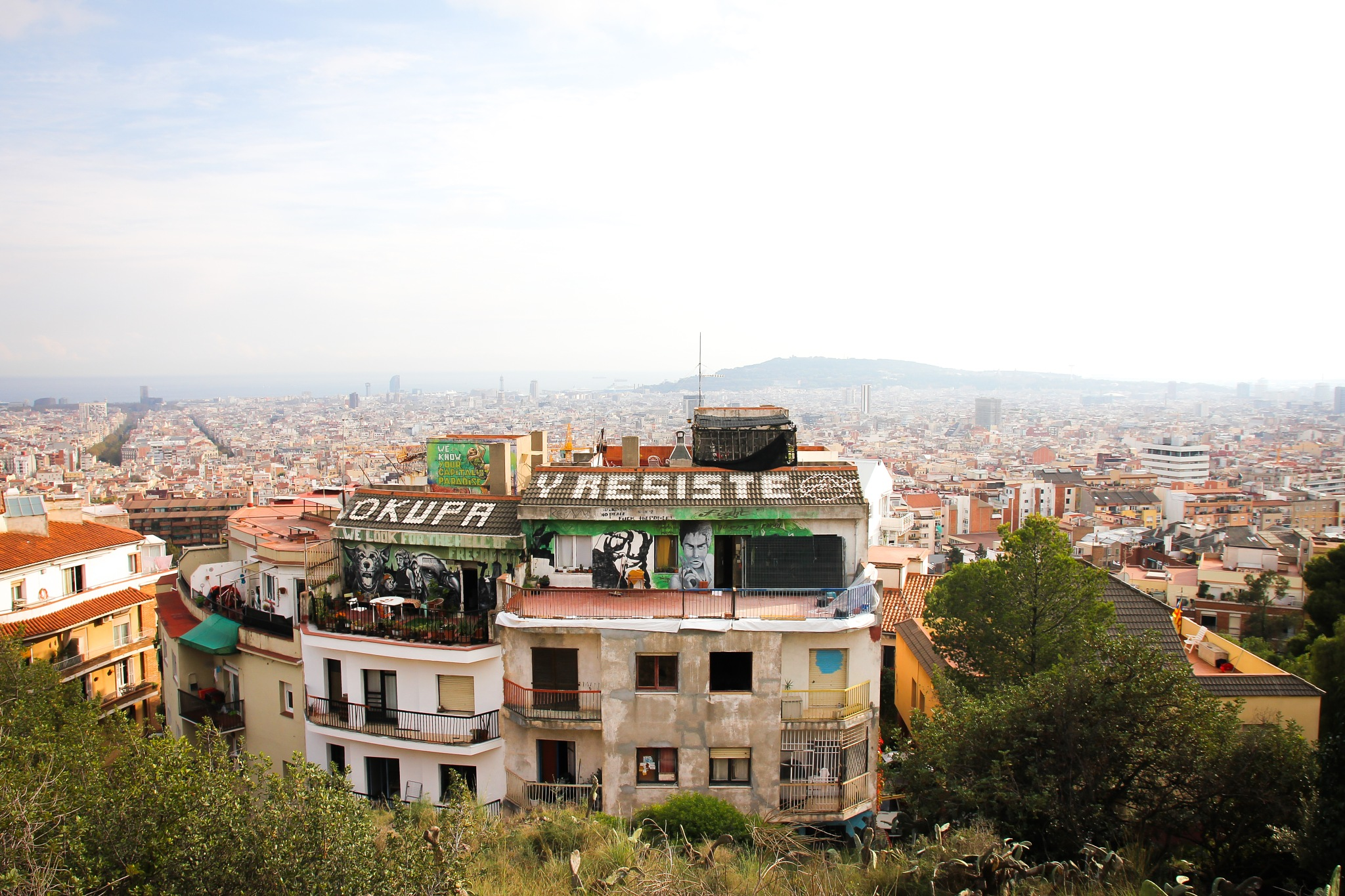 View over Barcelona city by Lisa Sundell
