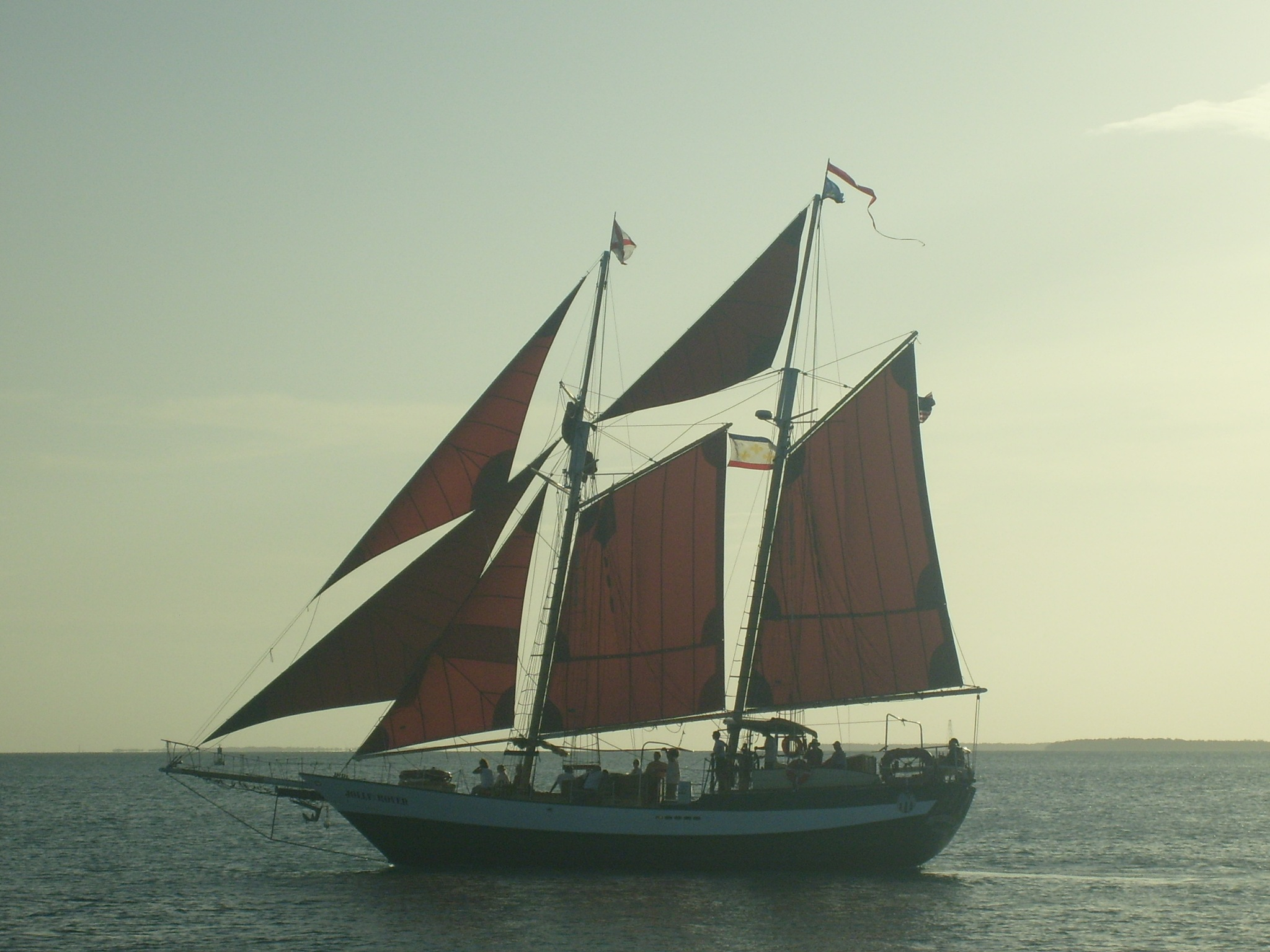 Schooner off Mallory Square by Keith Mathews Photo-Art