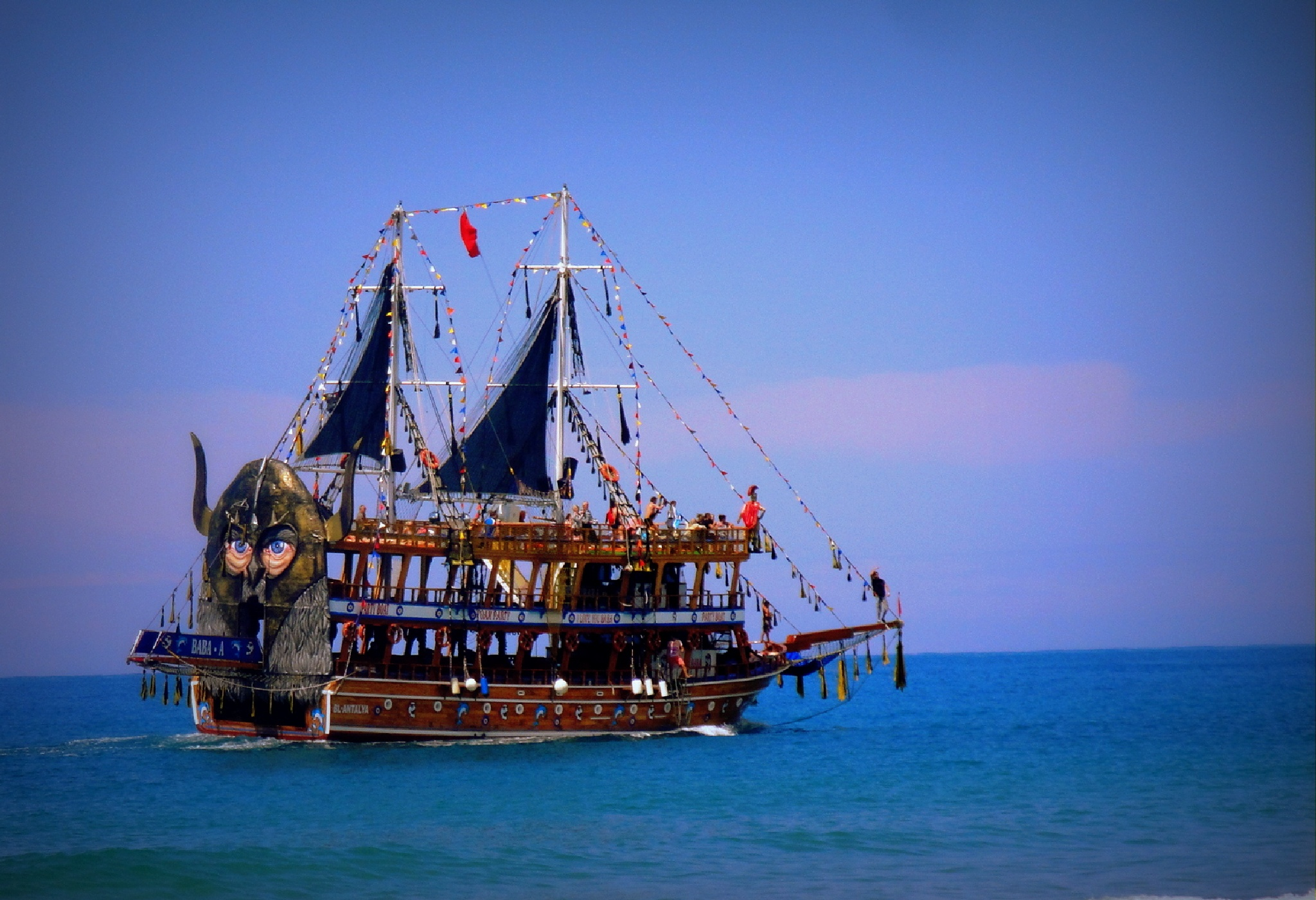 Pirate's ship by SigitaBer