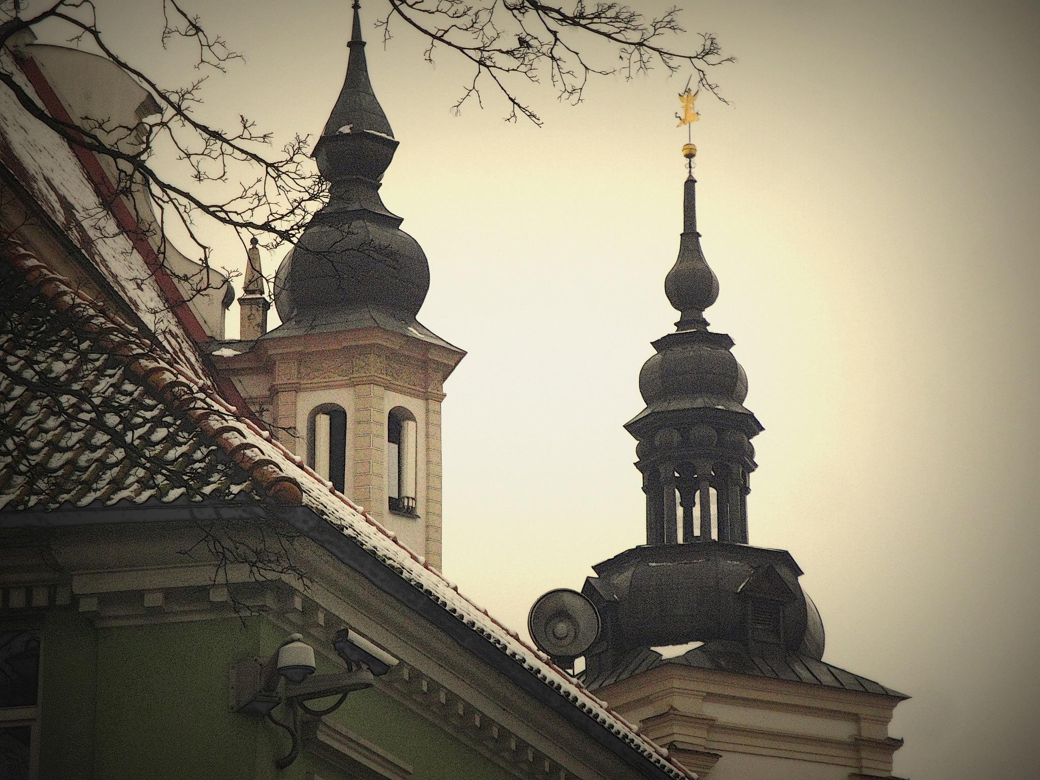 Church/bell by SigitaBer