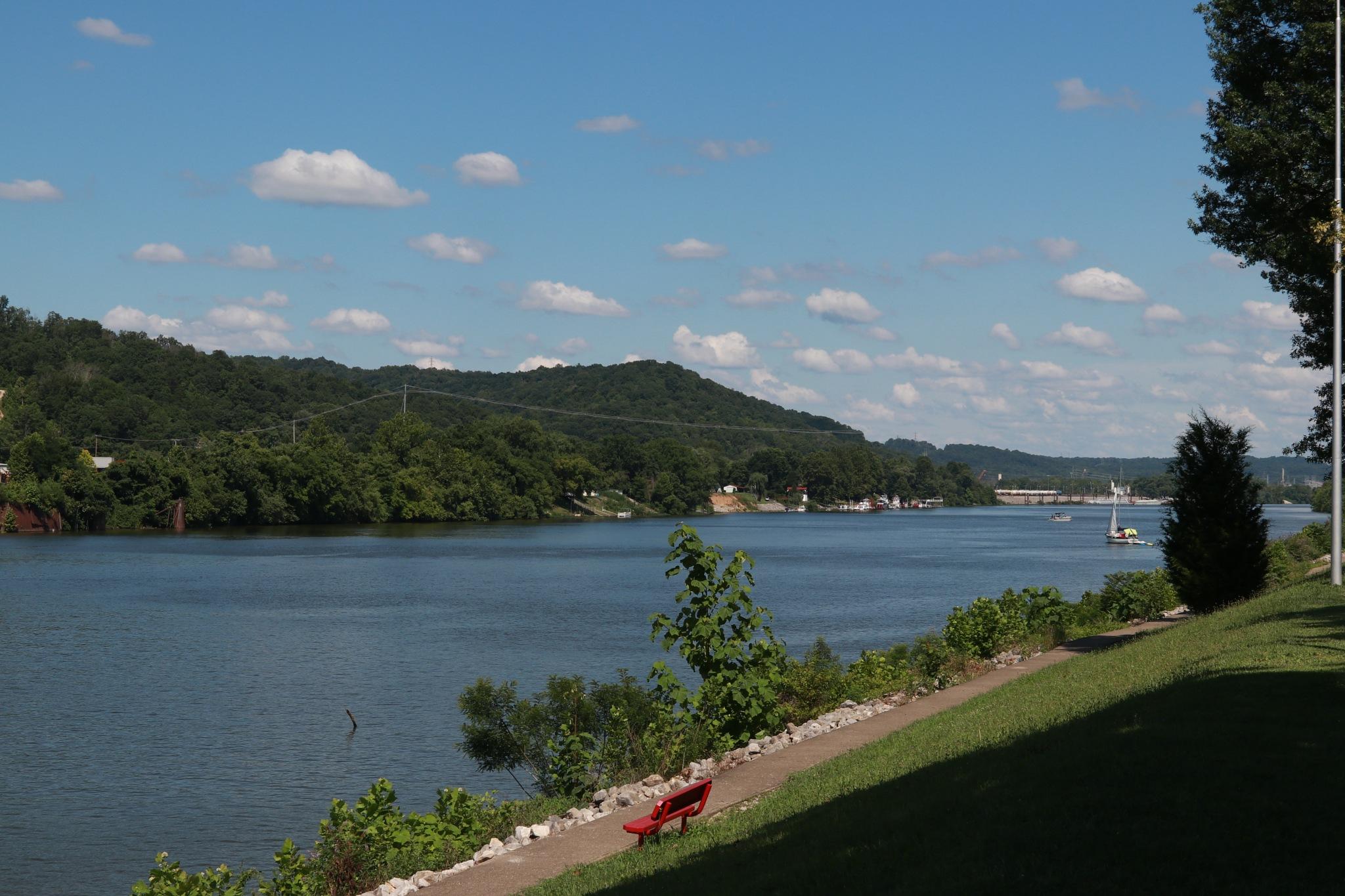 Kanawa river. Saint Albans WV. by James B Justice