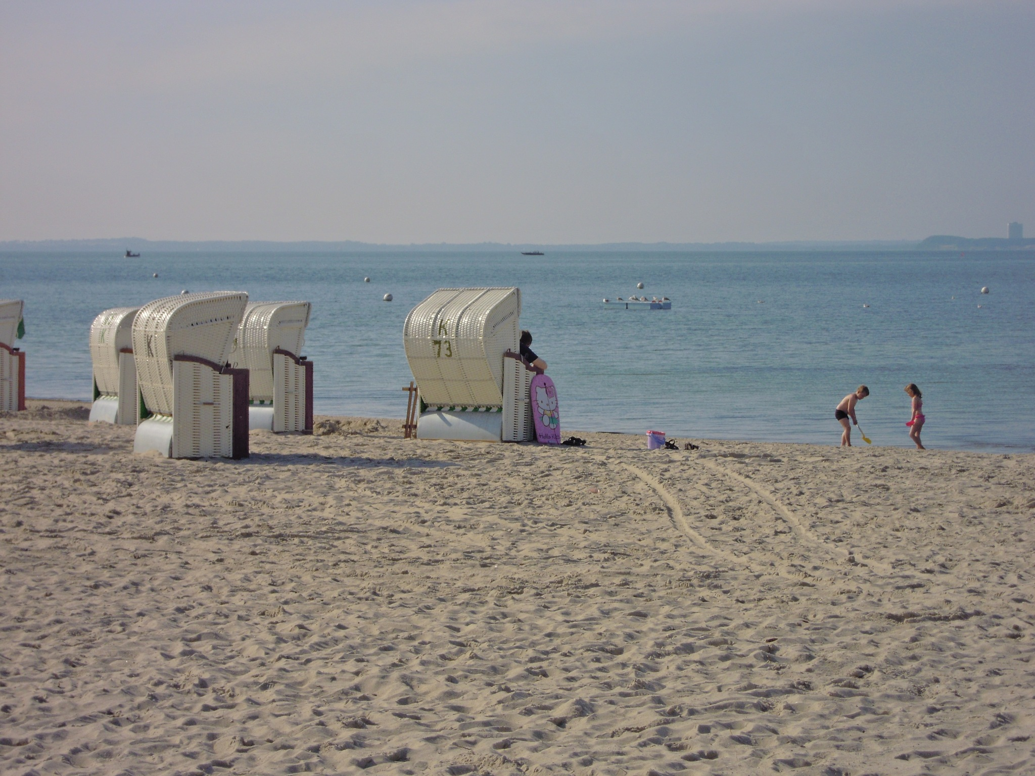 Strandkörbe (beach chairs) - Baltic Sea by Bice Portinari