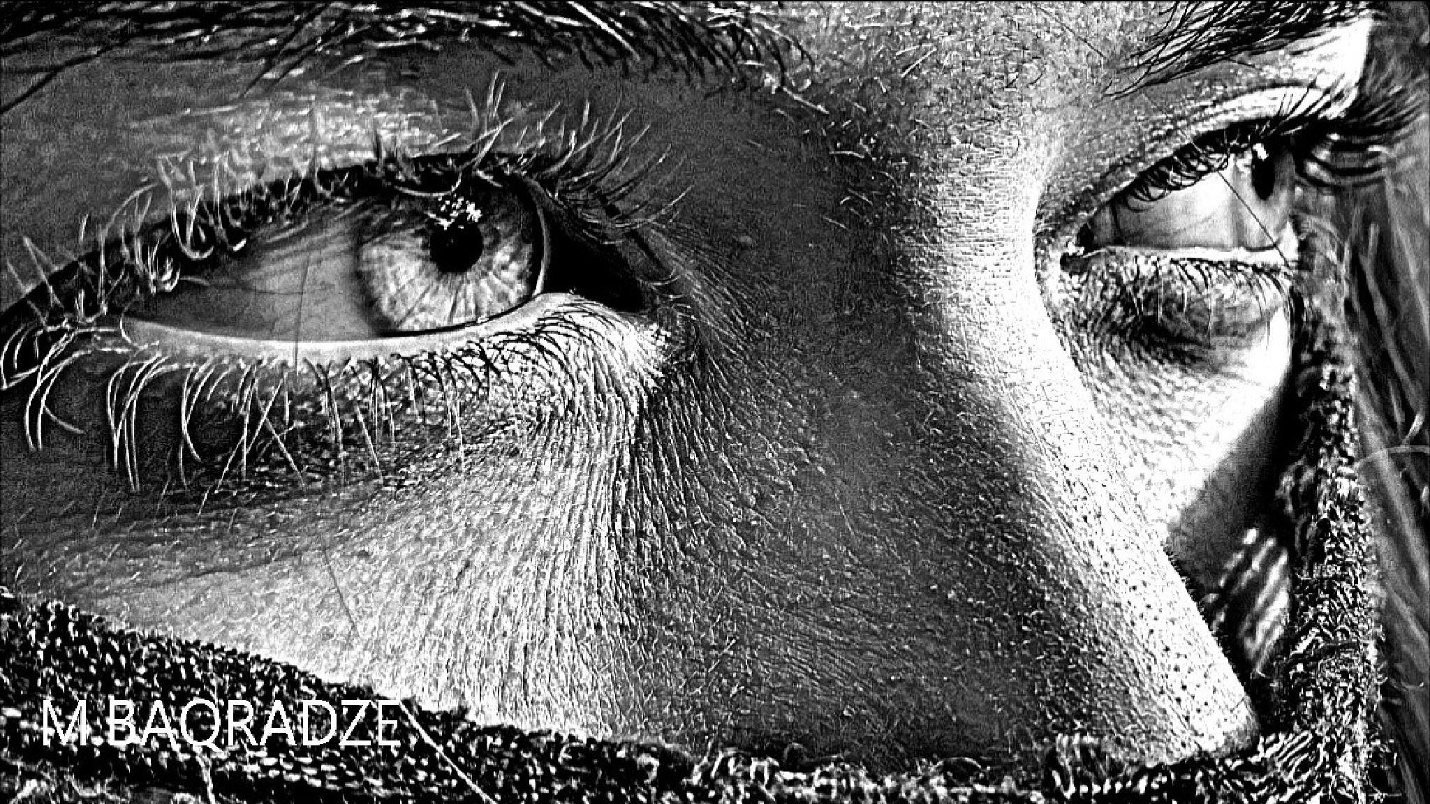 Eyes... by Maxime Baqradze