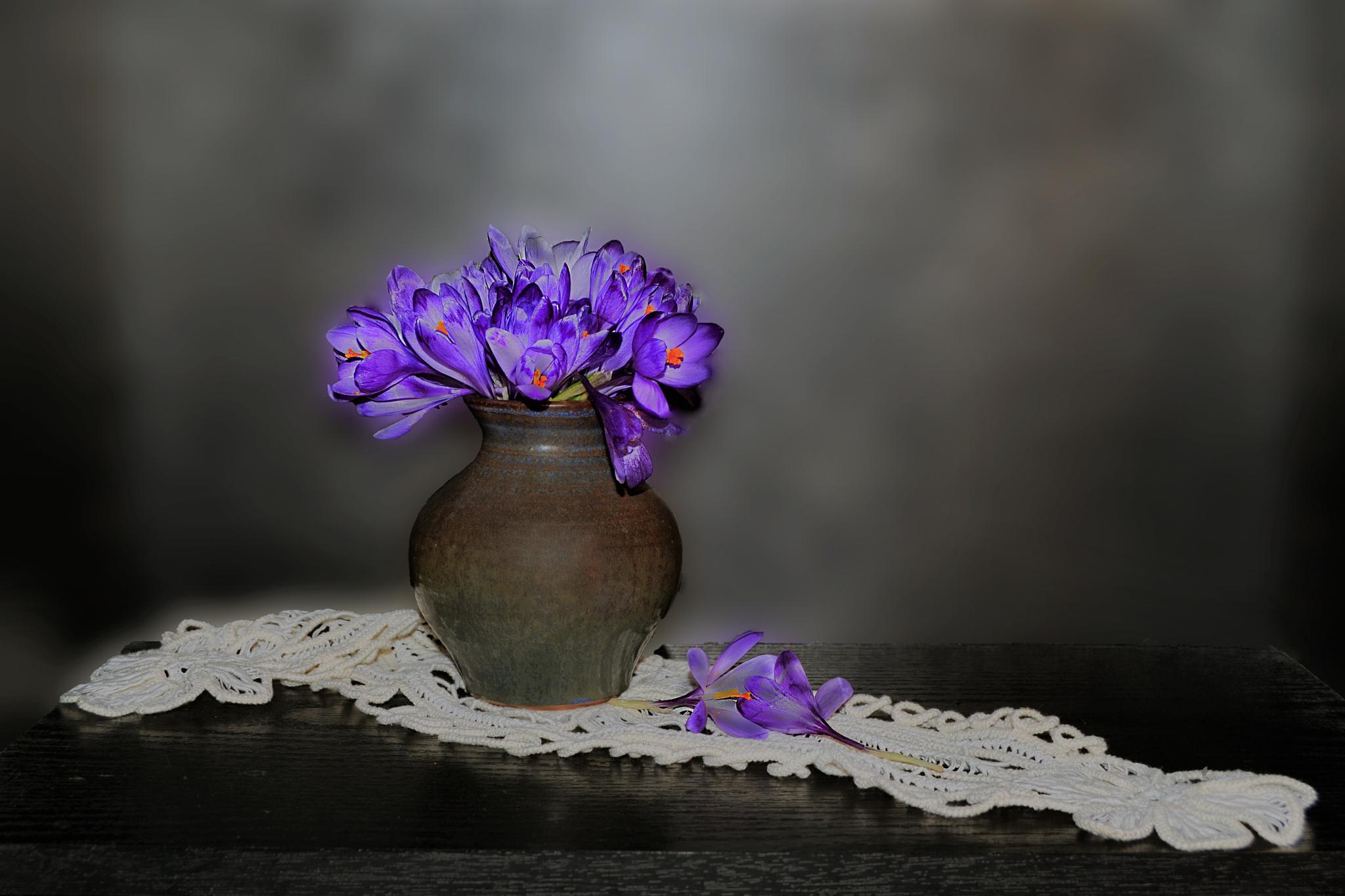 Branduse in vaza  by Neli