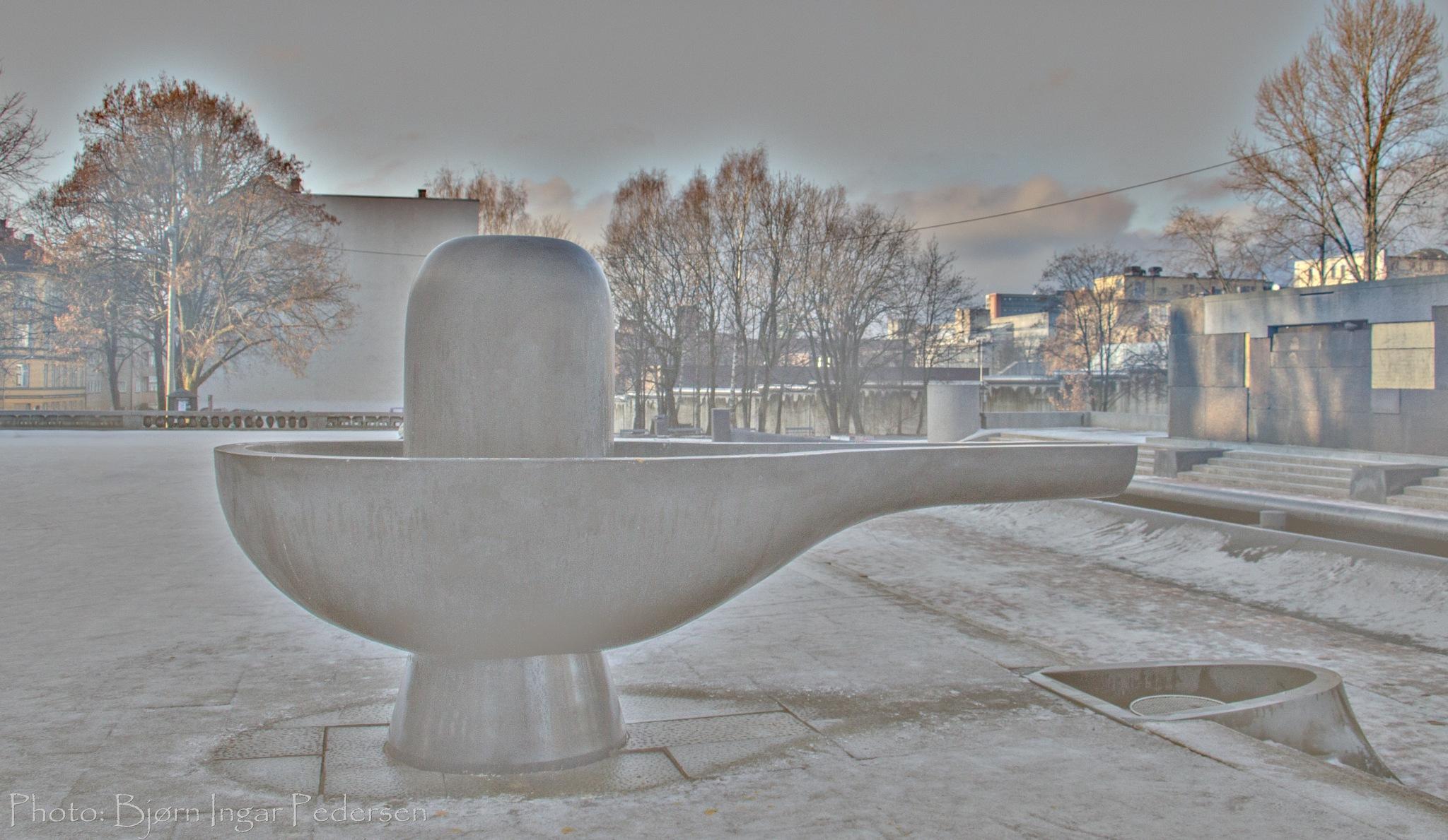 Urban art by Bjørn Ingar Pedersen