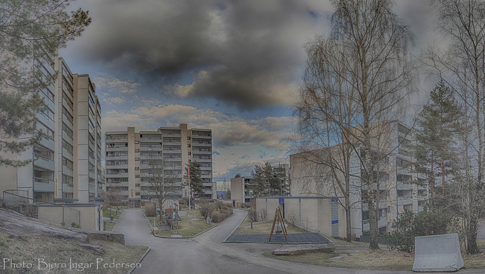 Romsås (a suburb to Oslo - Norway) by Bjørn Ingar Pedersen