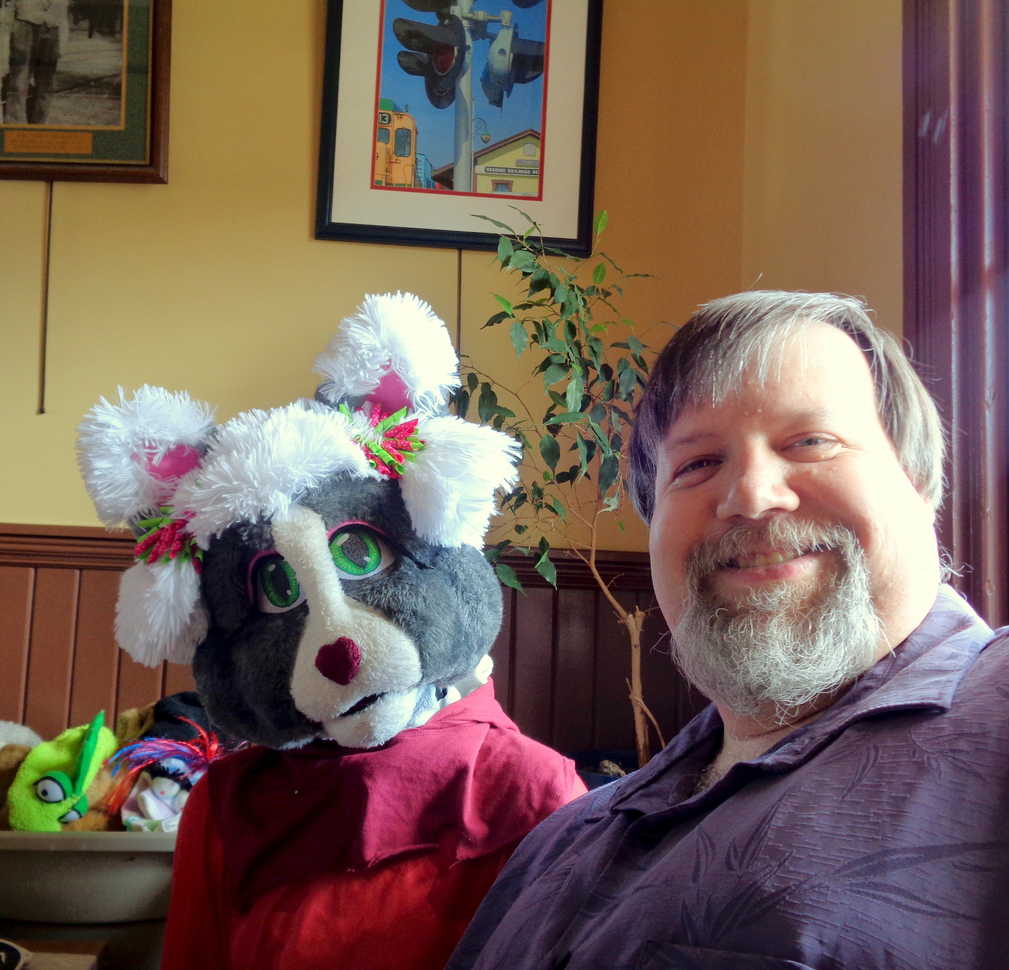 Puppet Discovery Day on March 11, 2018 at the Gaithersburg Community Museum by NatalyaParris