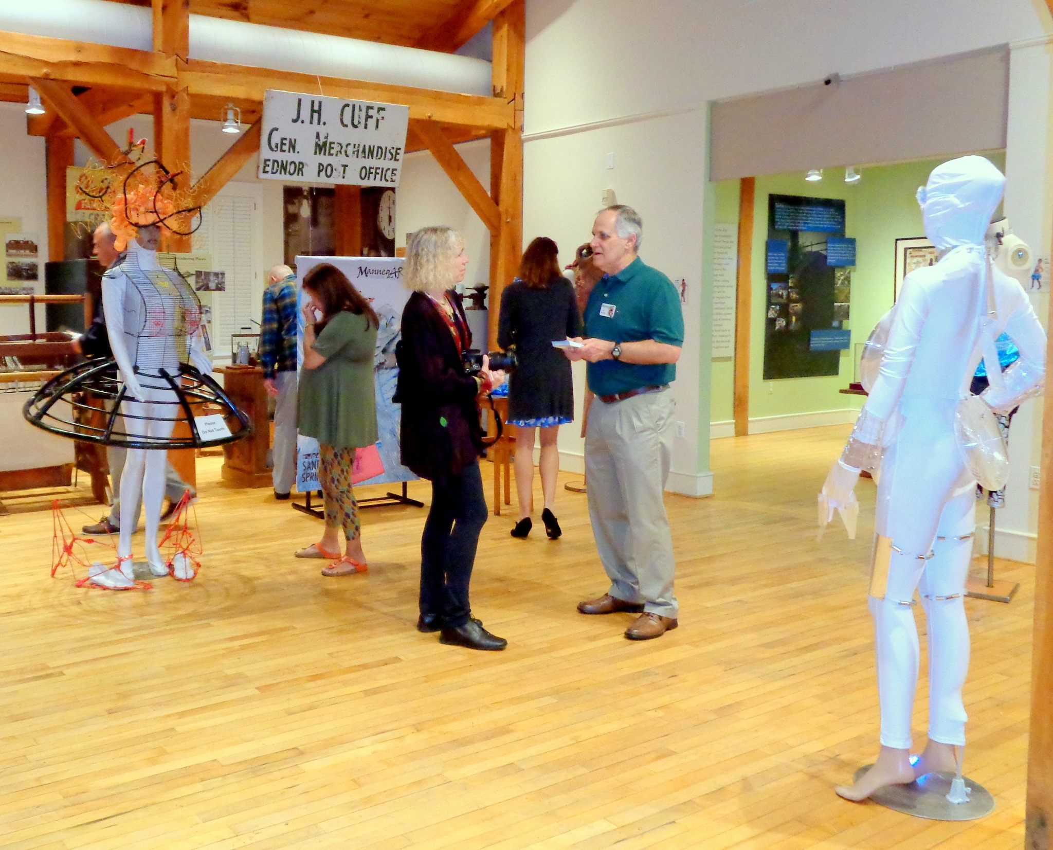 Pre-Opening Reception for ManneqART exhibit 9/9-11/18/2017 at the Sandy Spring Museum by NatalyaParris