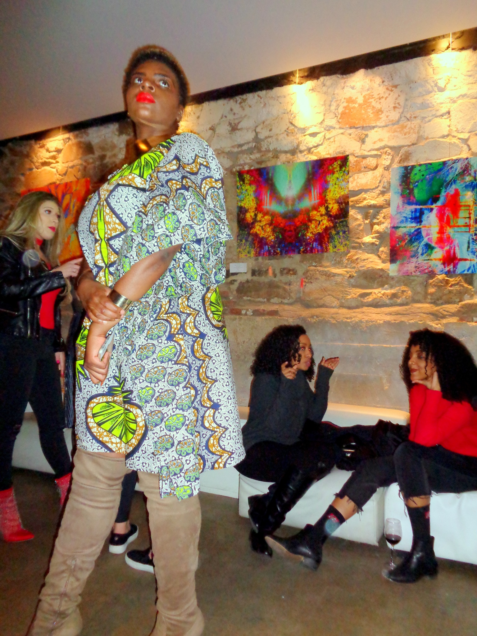 At the International Women's day - Women In the Arts: Pop-up Gallery  by NatalyaParris