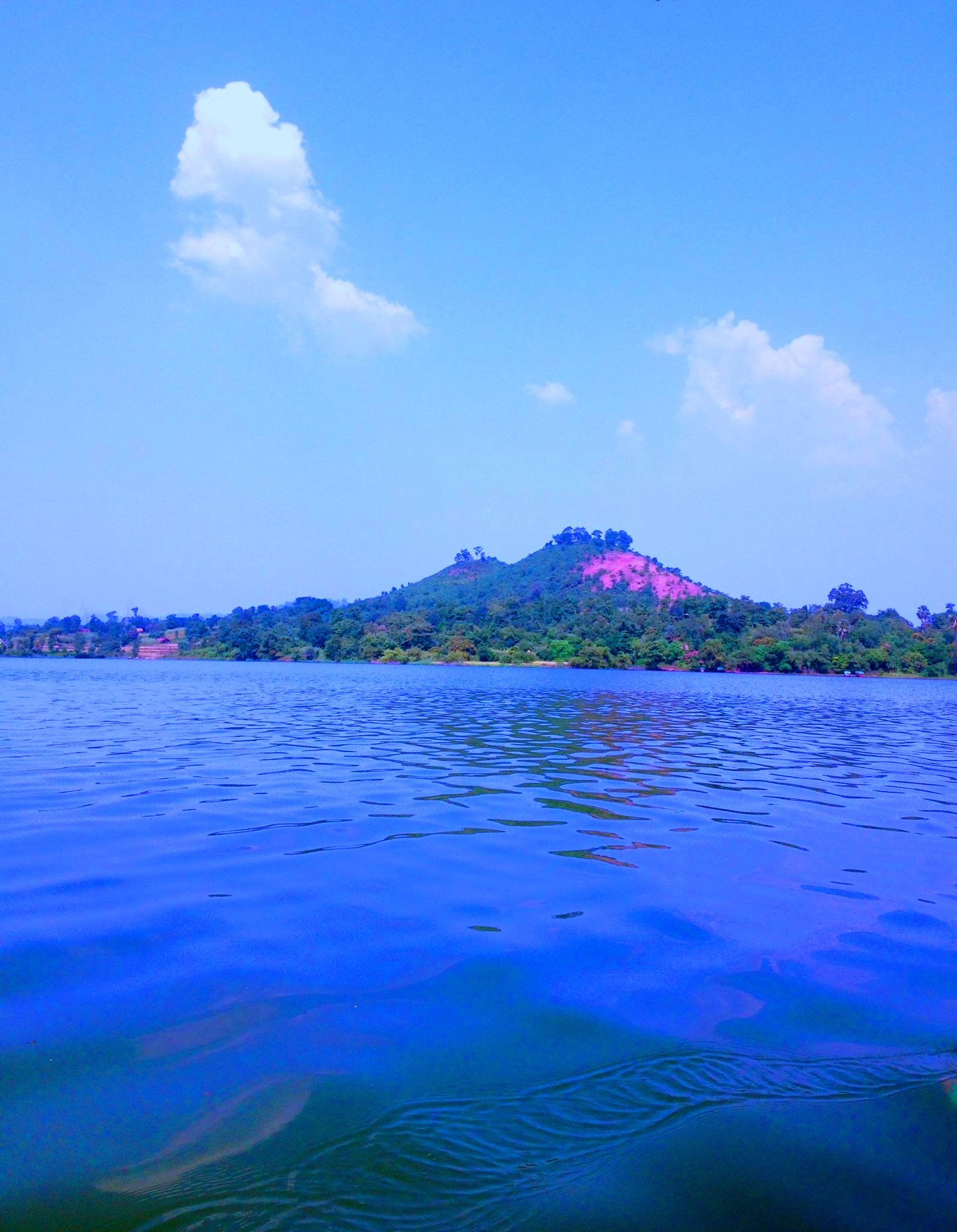 Hill # Lake # Nature by Bharat75