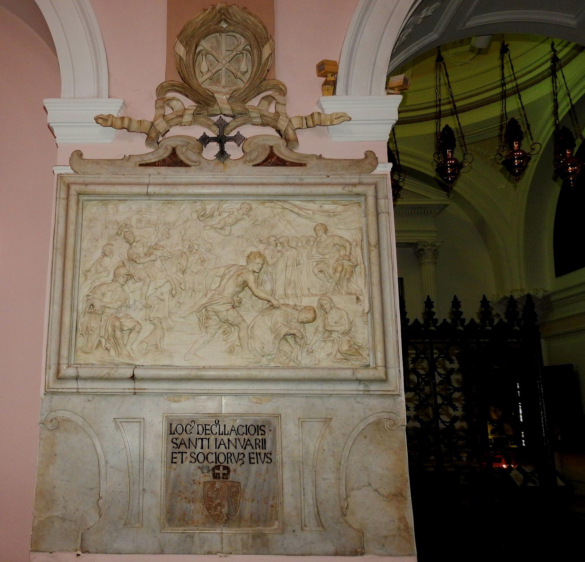 Pozzuoli Naples - Saint Gennaro Church - Martyrdom of Saint Gennaro   by Delirium Tremends 62
