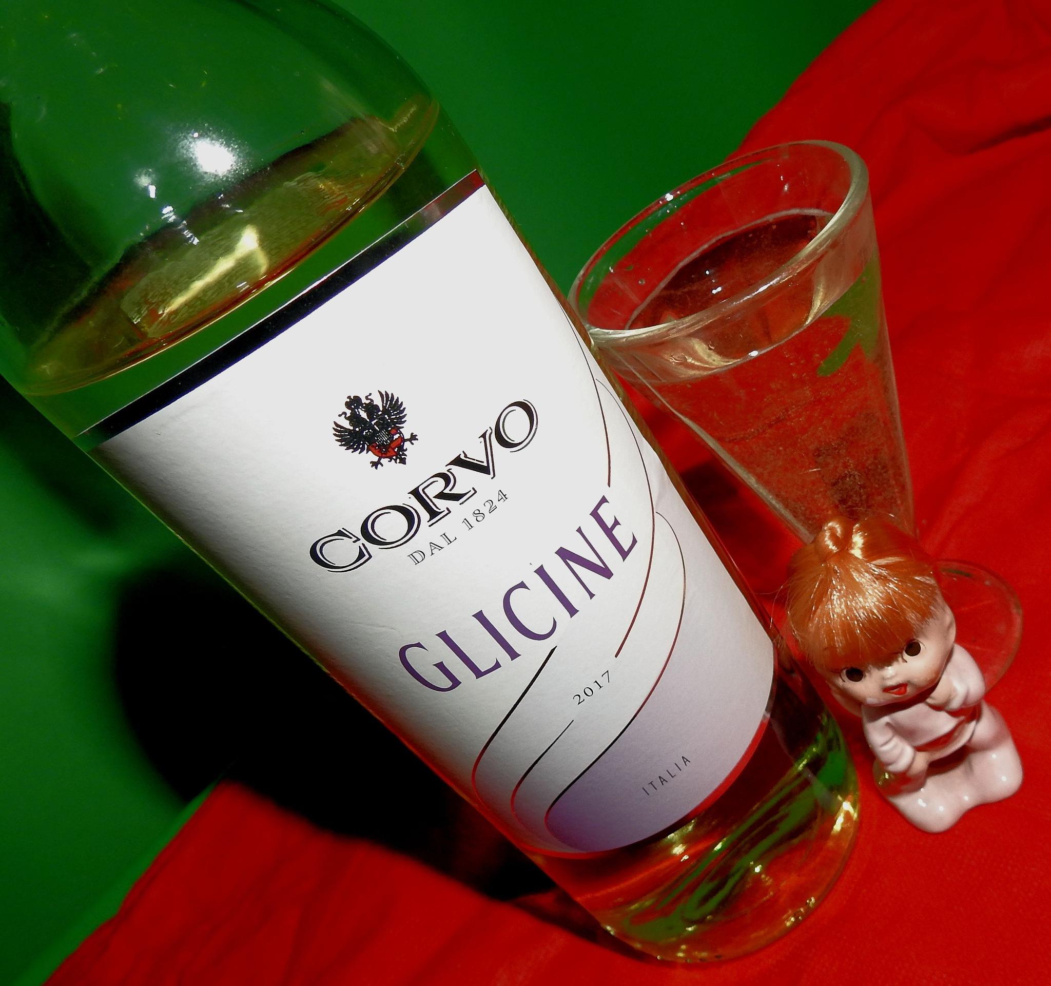 Italian Wine - Corvo - Glicine - 11° - Terre Siciliane  - Marsala  by Delirium Tremends 62