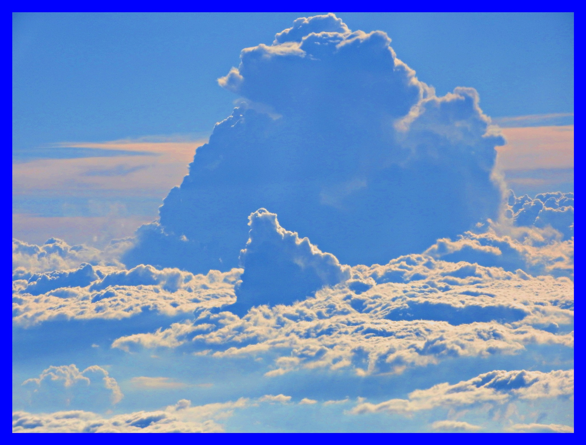 Clouds climbing higher by Paolo Paparazzi