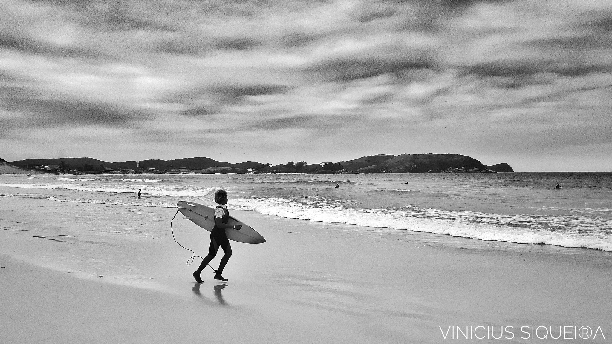 Surfer Forte's Beach by Vinicius Siqueira