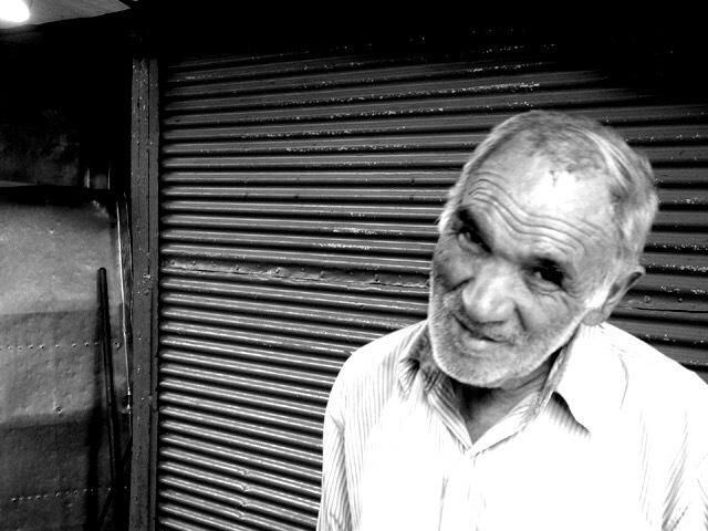 Old man by vicheaux