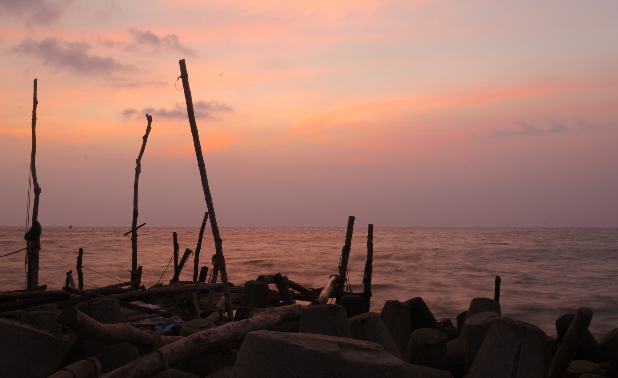 After the sun set..! by Abhilash Kummayil