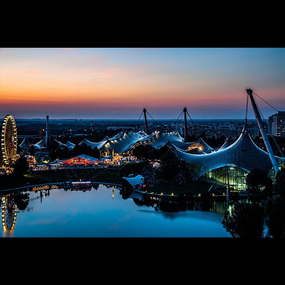 Munich - Olympic area by Michael Alverdes